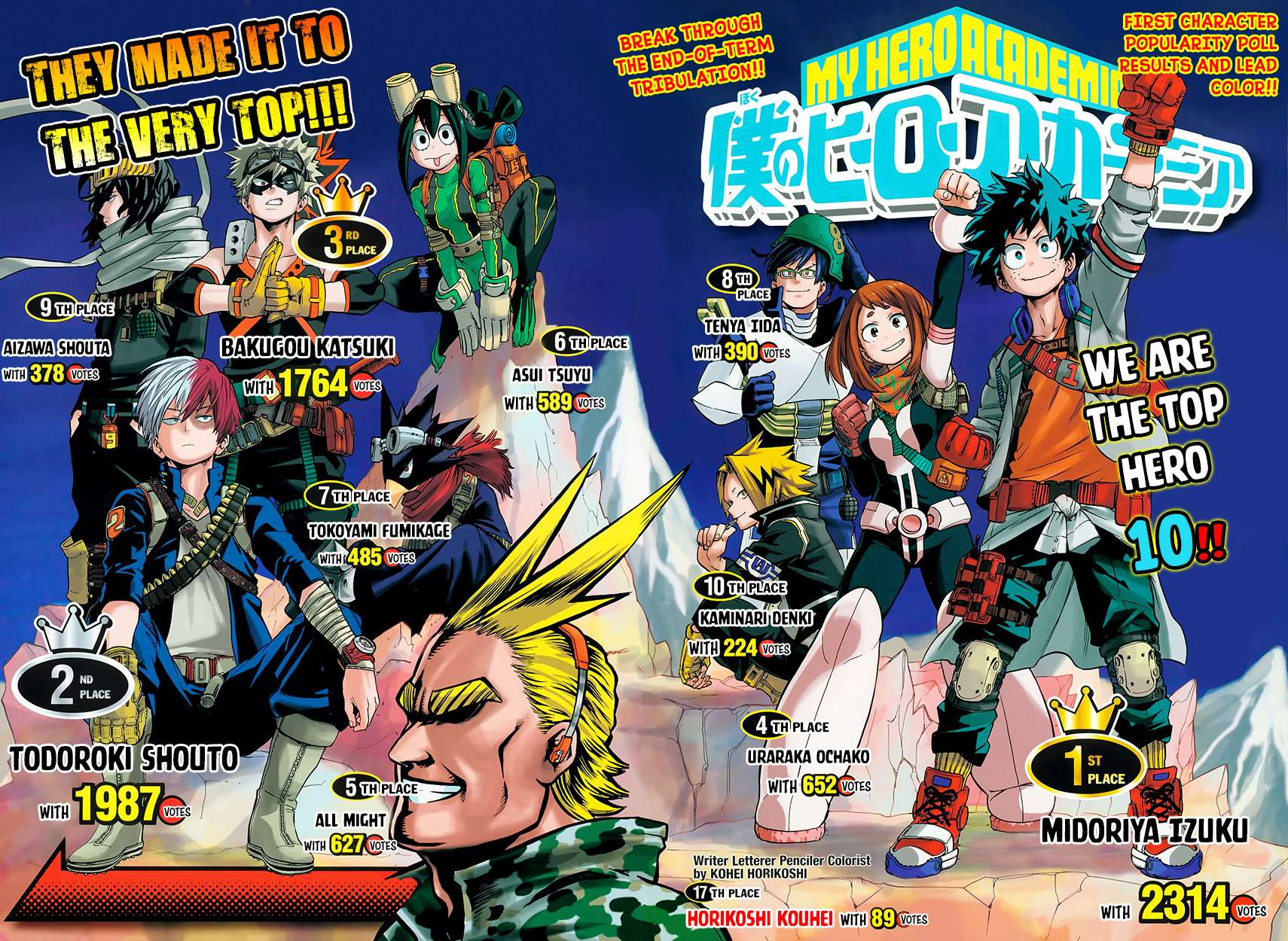 My Hero Academia, Chapter 62 image 005