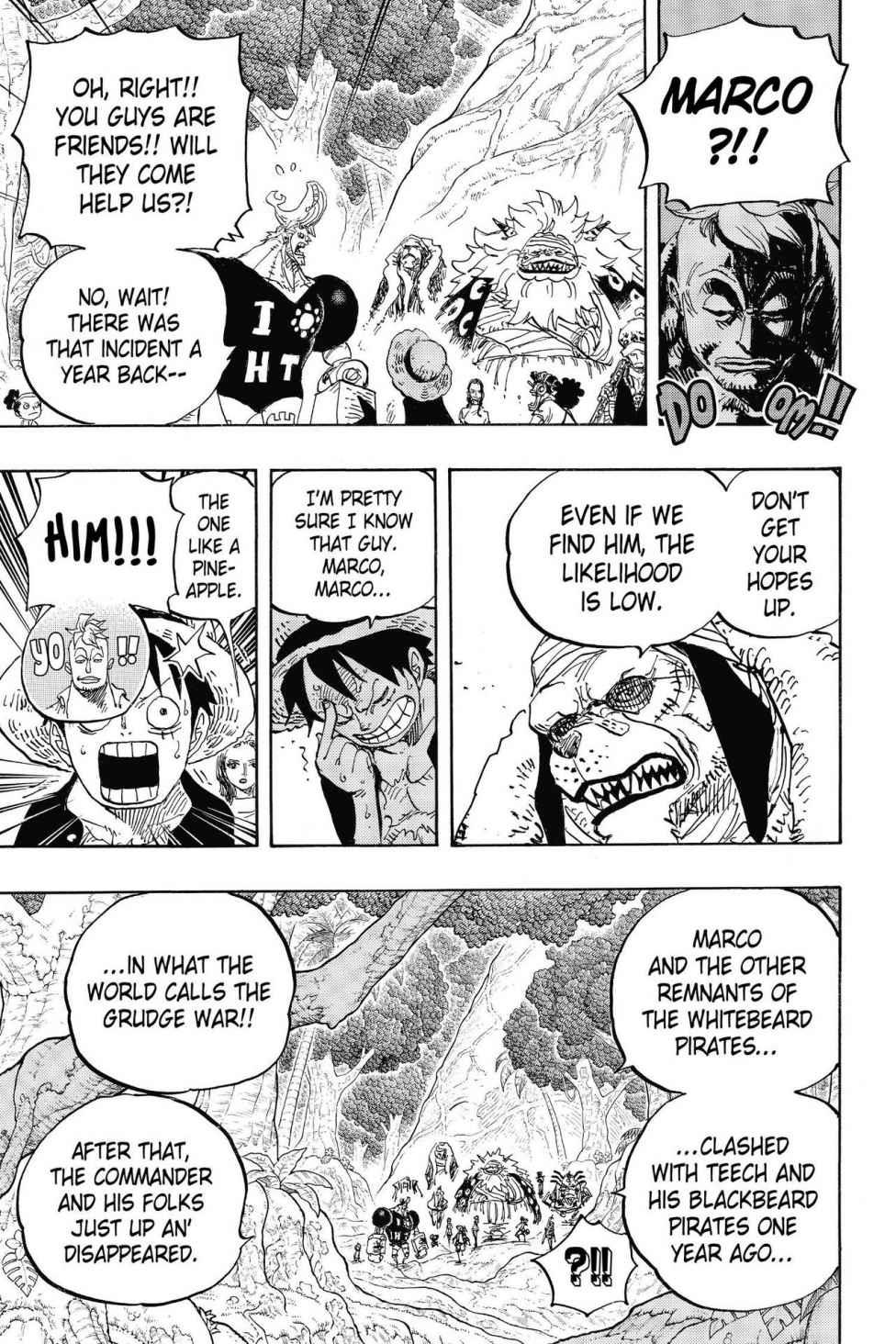 One Piece, Chapter 820 image 011