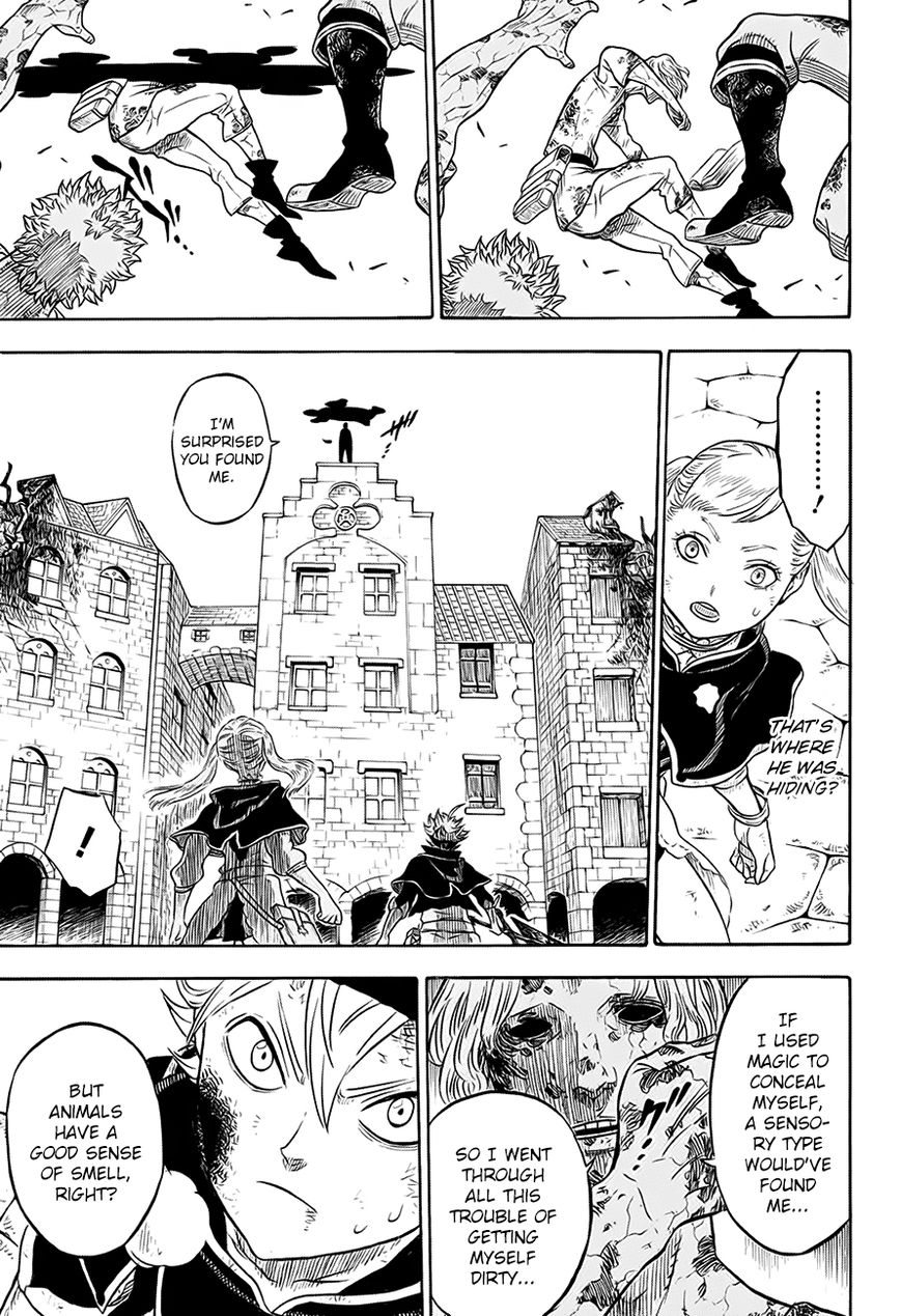 Black Clover, Chapter 32 The Man at the End of the Darkness image 016