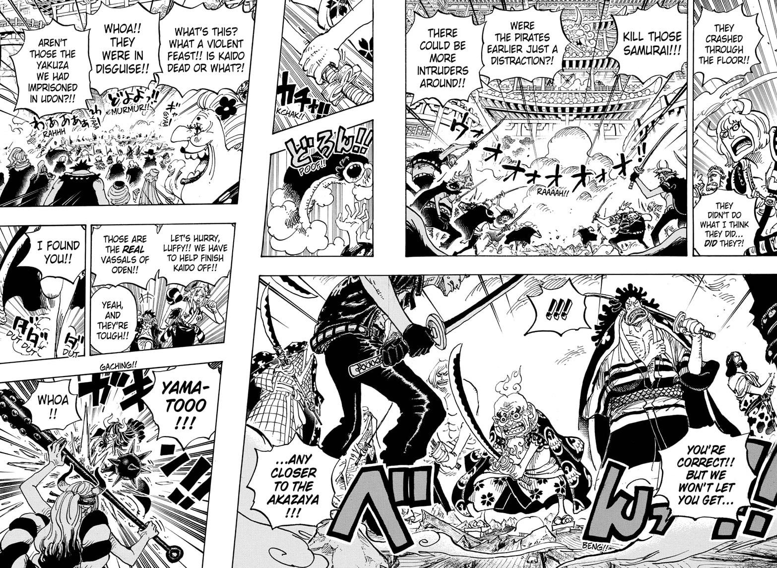 One Piece, Chapter 987 image 007