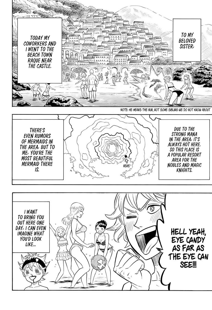 Black Clover, Chapter 57 A Black Beach Story image 003