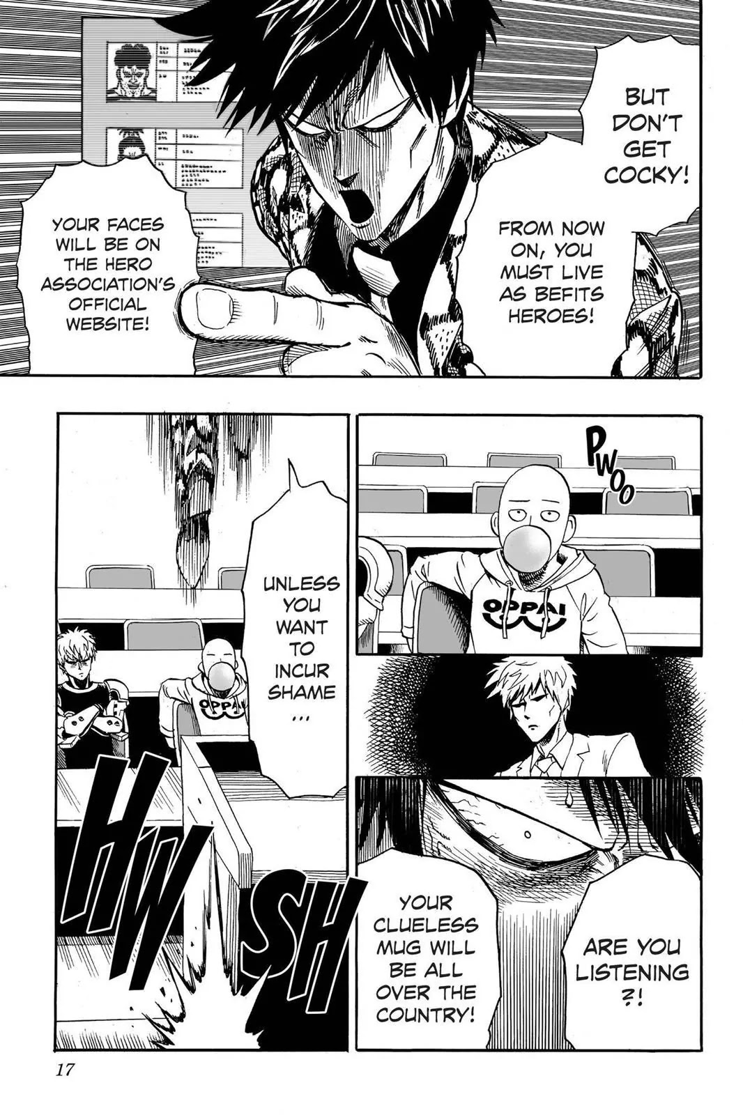 One Punch Man, Chapter Onepunch-Man 16 image 018