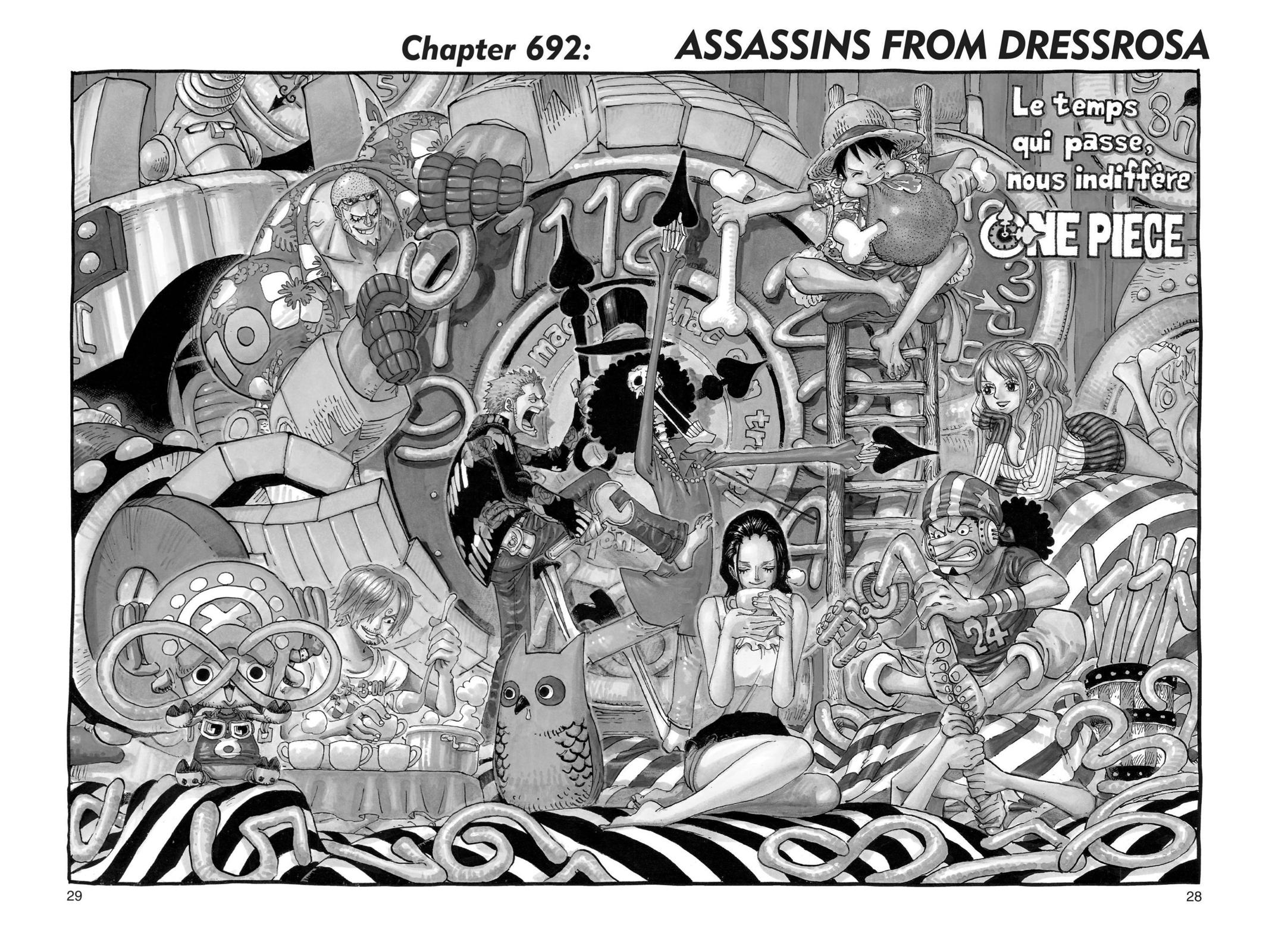 One Piece, Chapter 692 image 001