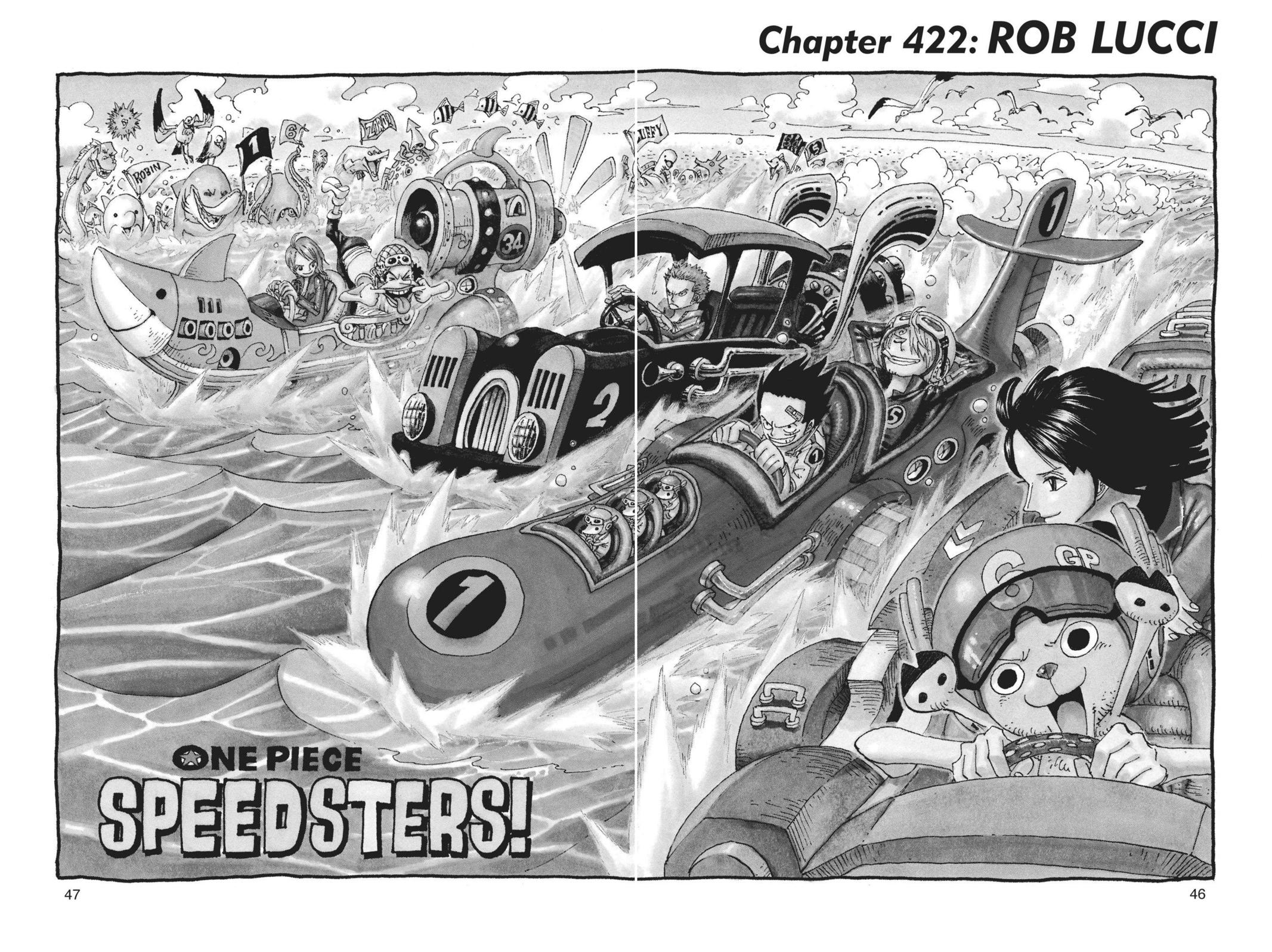 One Piece, Chapter 422 image 001