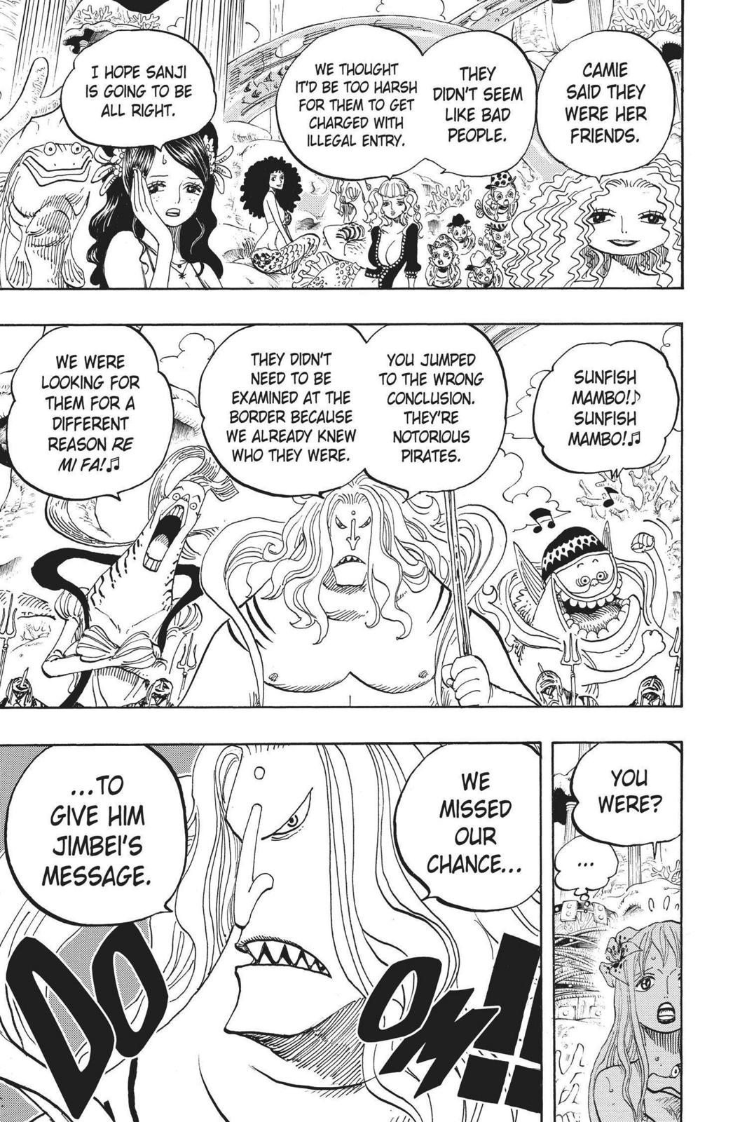 One Piece, Chapter 609 image 017