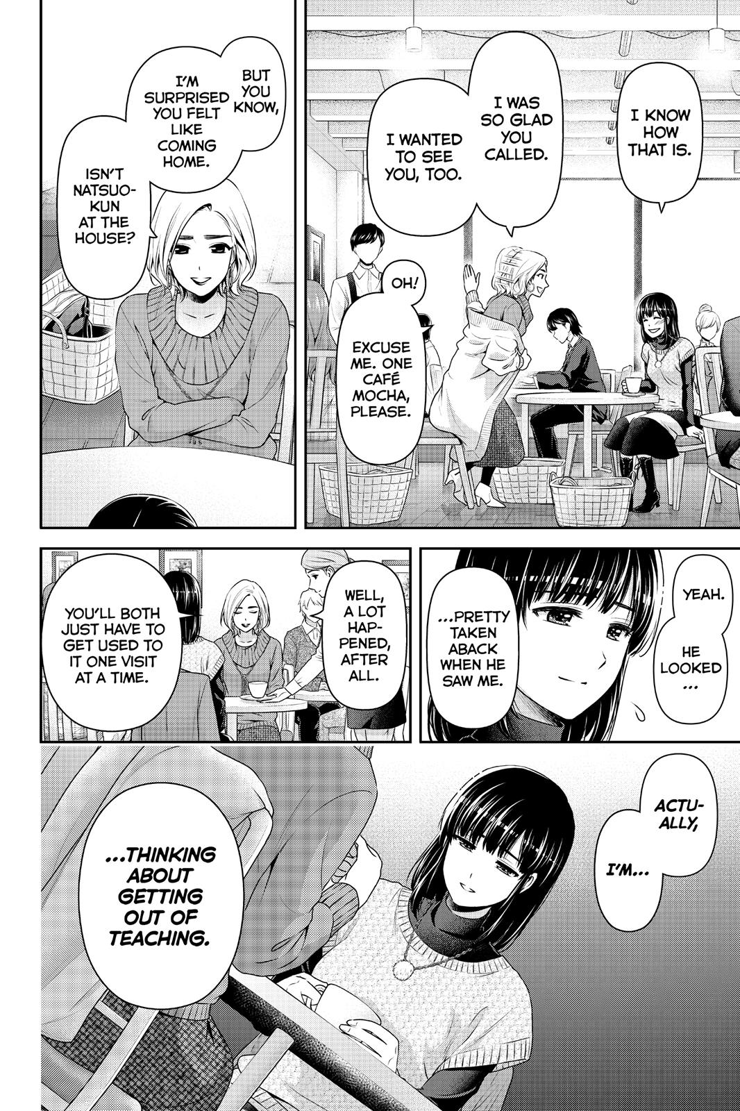 Domestic Na Kanojo, Chapter 132 image 014
