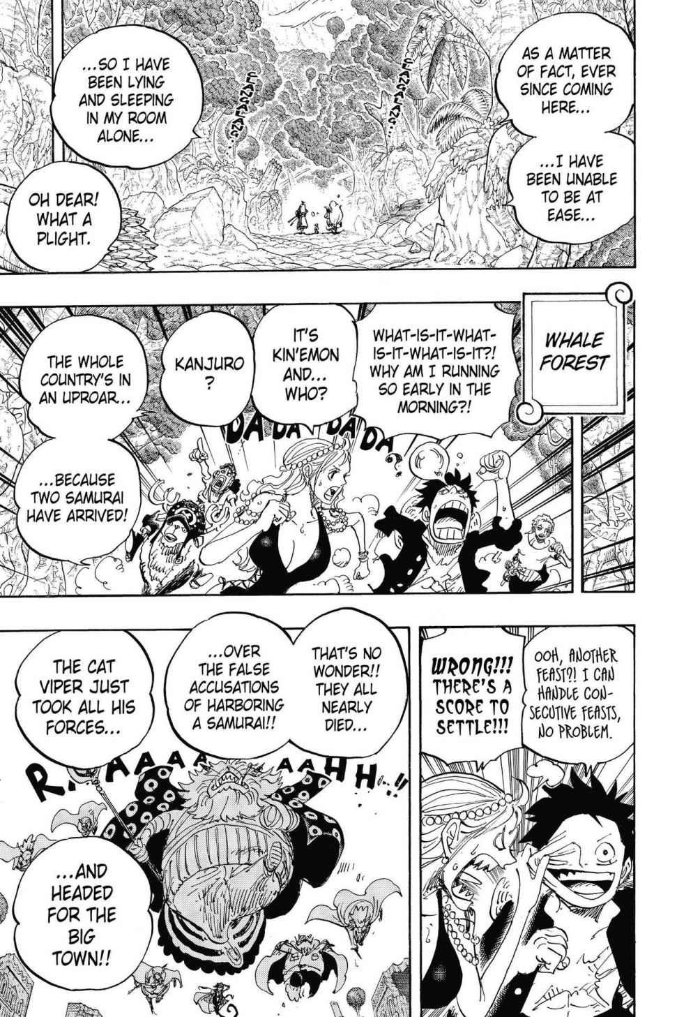One Piece, Chapter 816 image 005