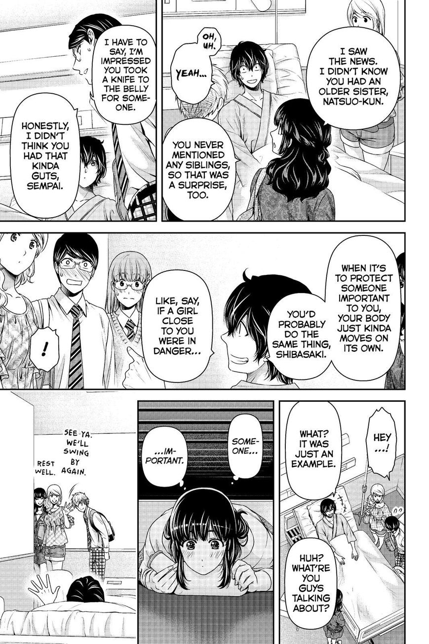 Domestic Girlfriend, Chapter 188 Signs of Life image 007