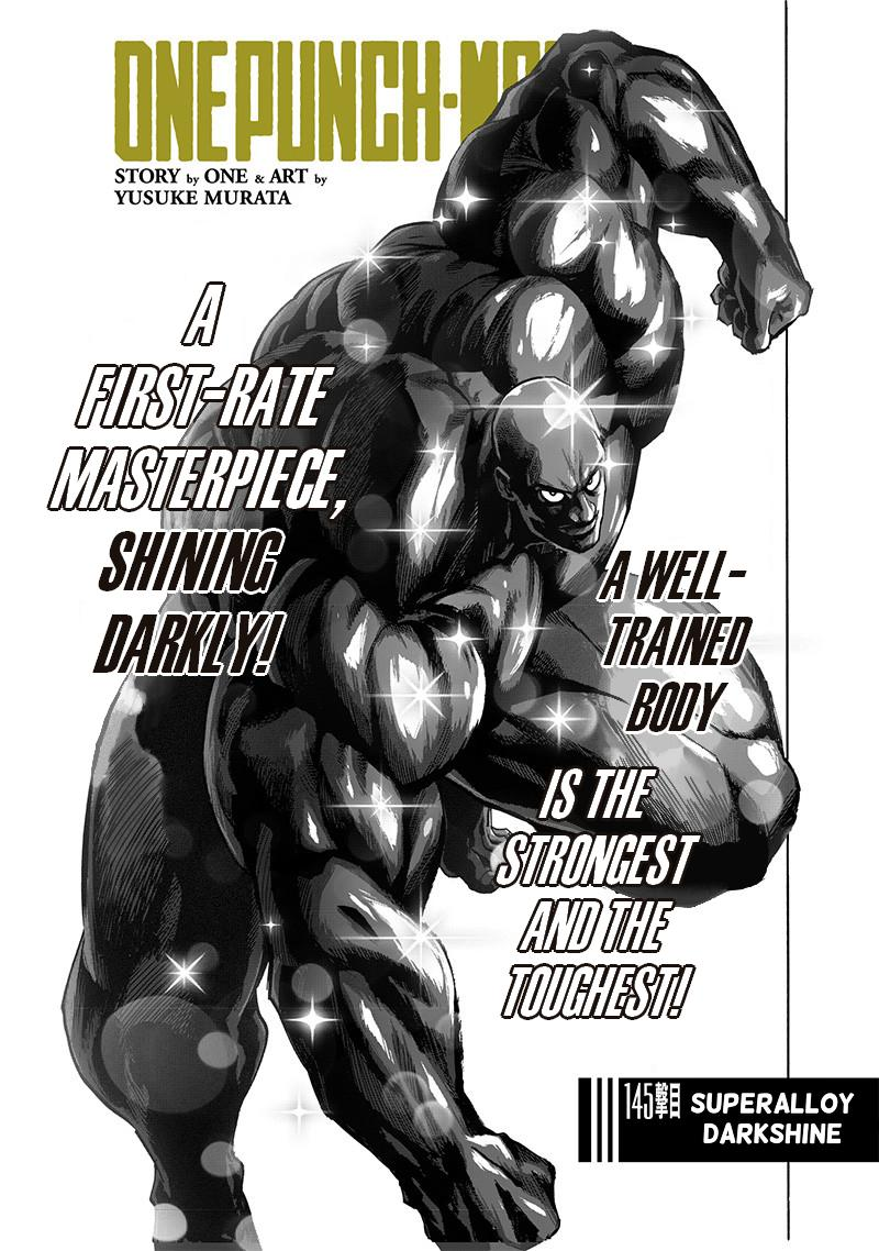 One Punch Man, Chapter 145 image 001