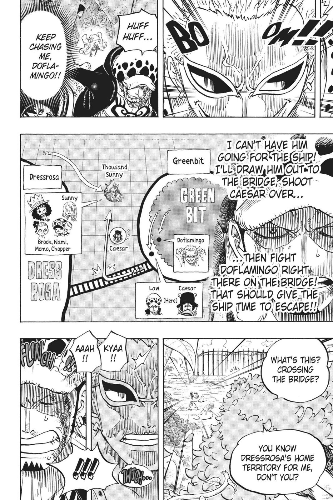 One Piece, Chapter 723 image 016