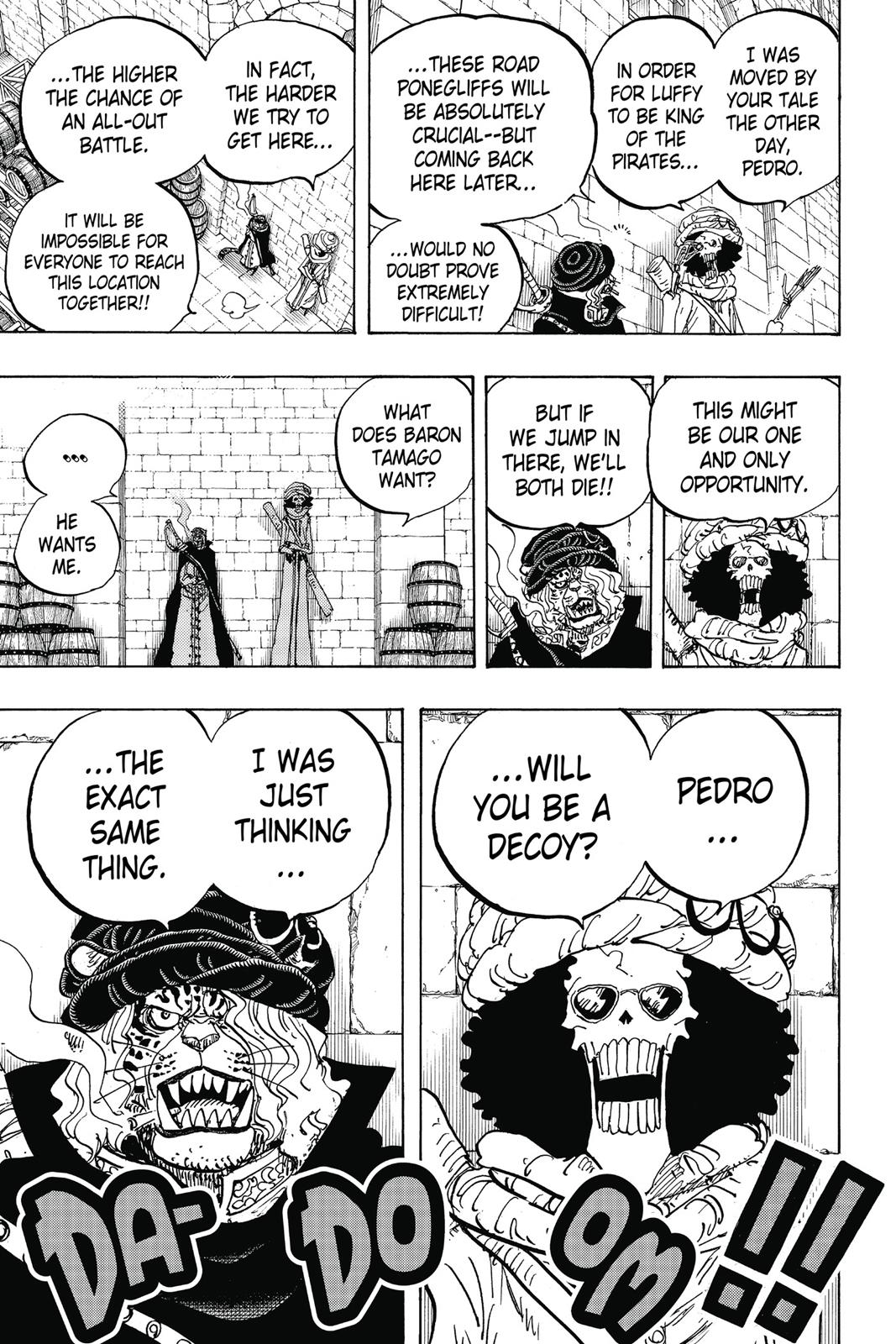 One Piece, Chapter 846 image 016