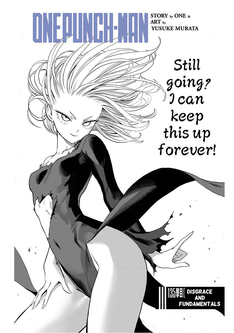 One Punch Man, Chapter One-Punch Man 135 image 001
