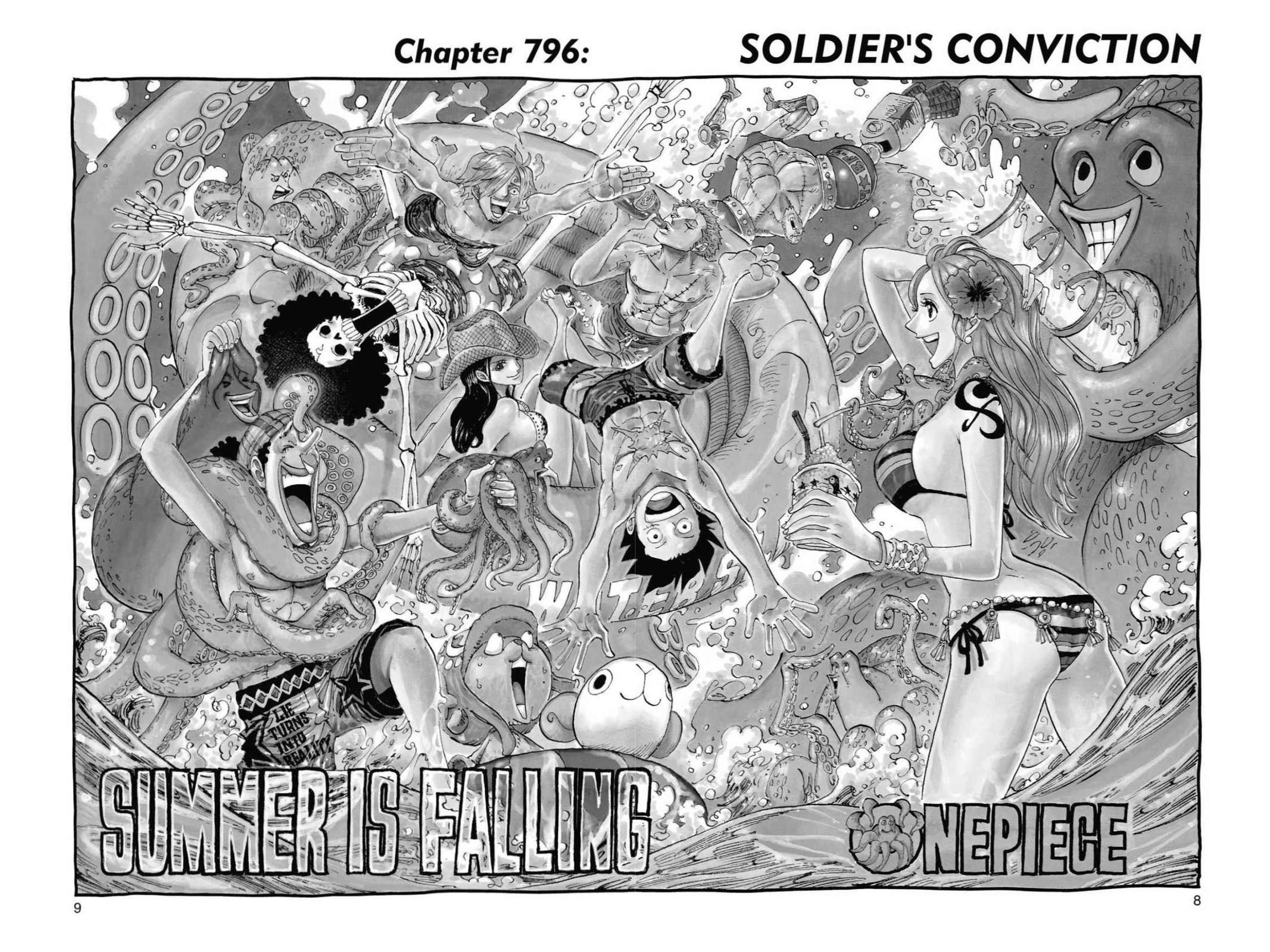 One Piece, Chapter 796 image 008