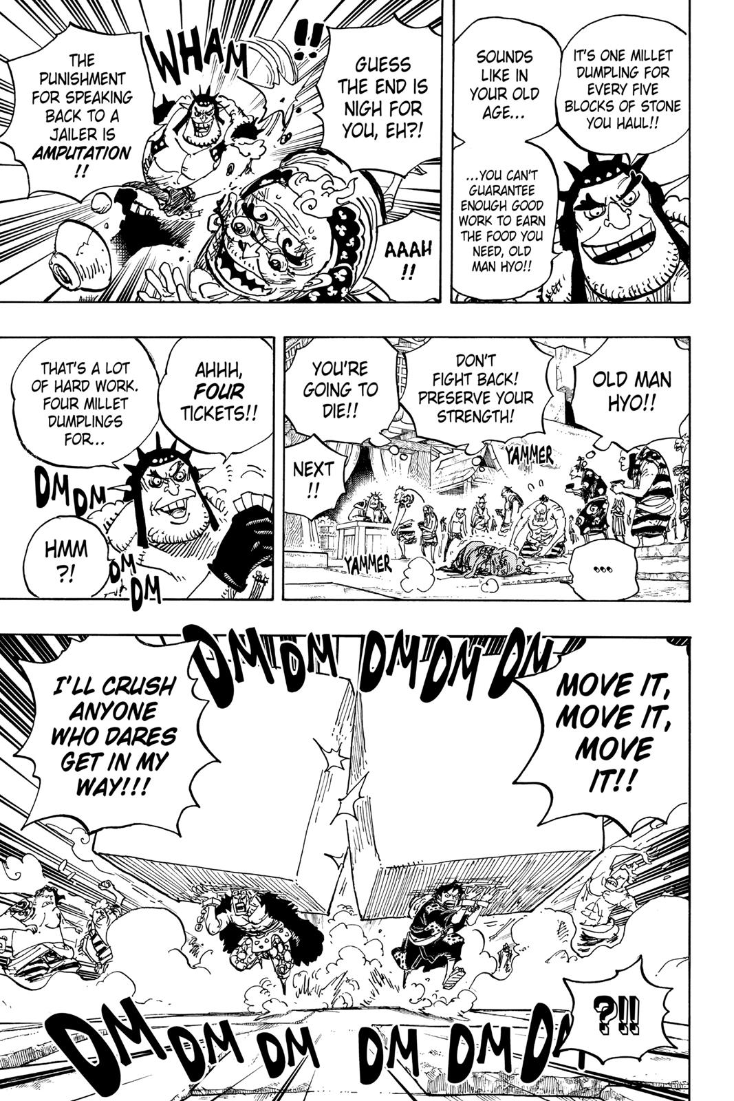 One Piece, Chapter 926 image 011