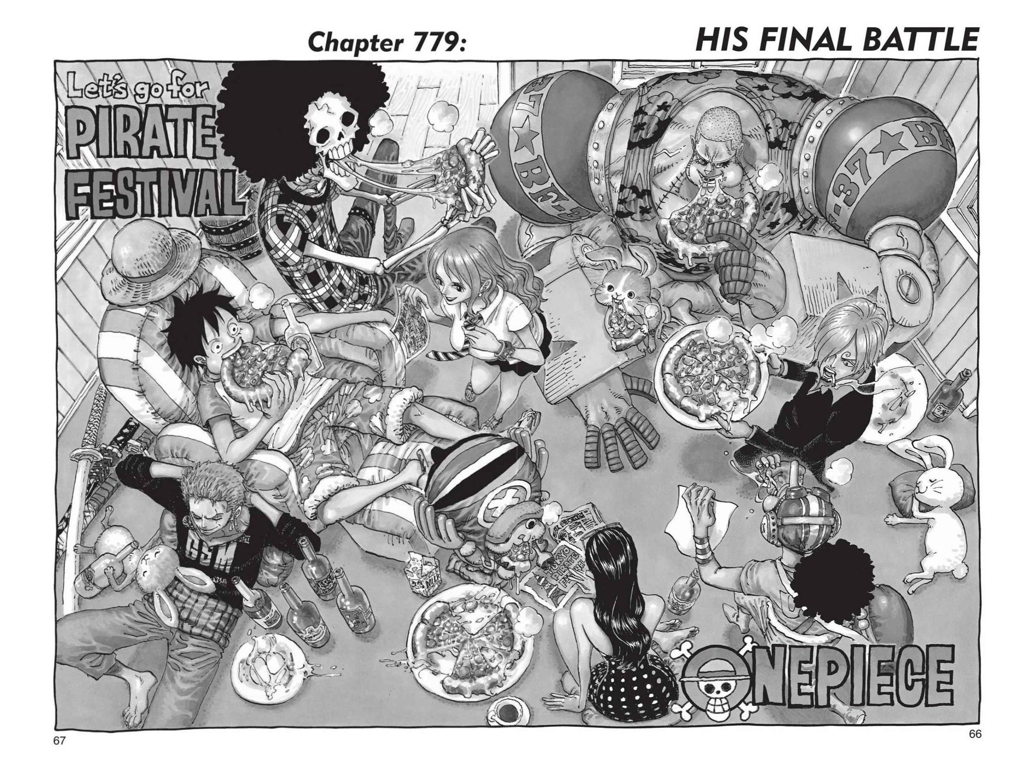 One Piece, Chapter 779 image 001