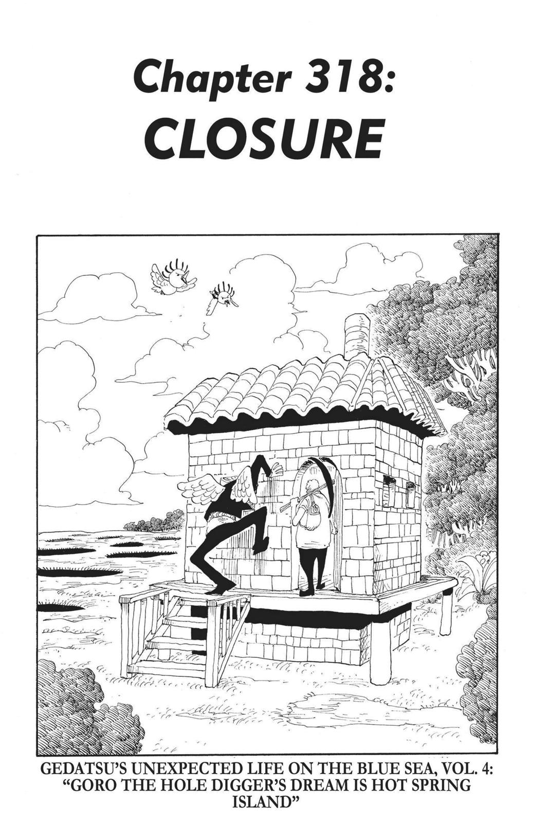 One Piece, Chapter 318 image 001