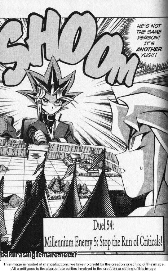 Yu Gi Oh, Chapter Vol.07 Ch.054 - Battle 54 Millennium Enemy 5 Stop the Run of Criticals image 002