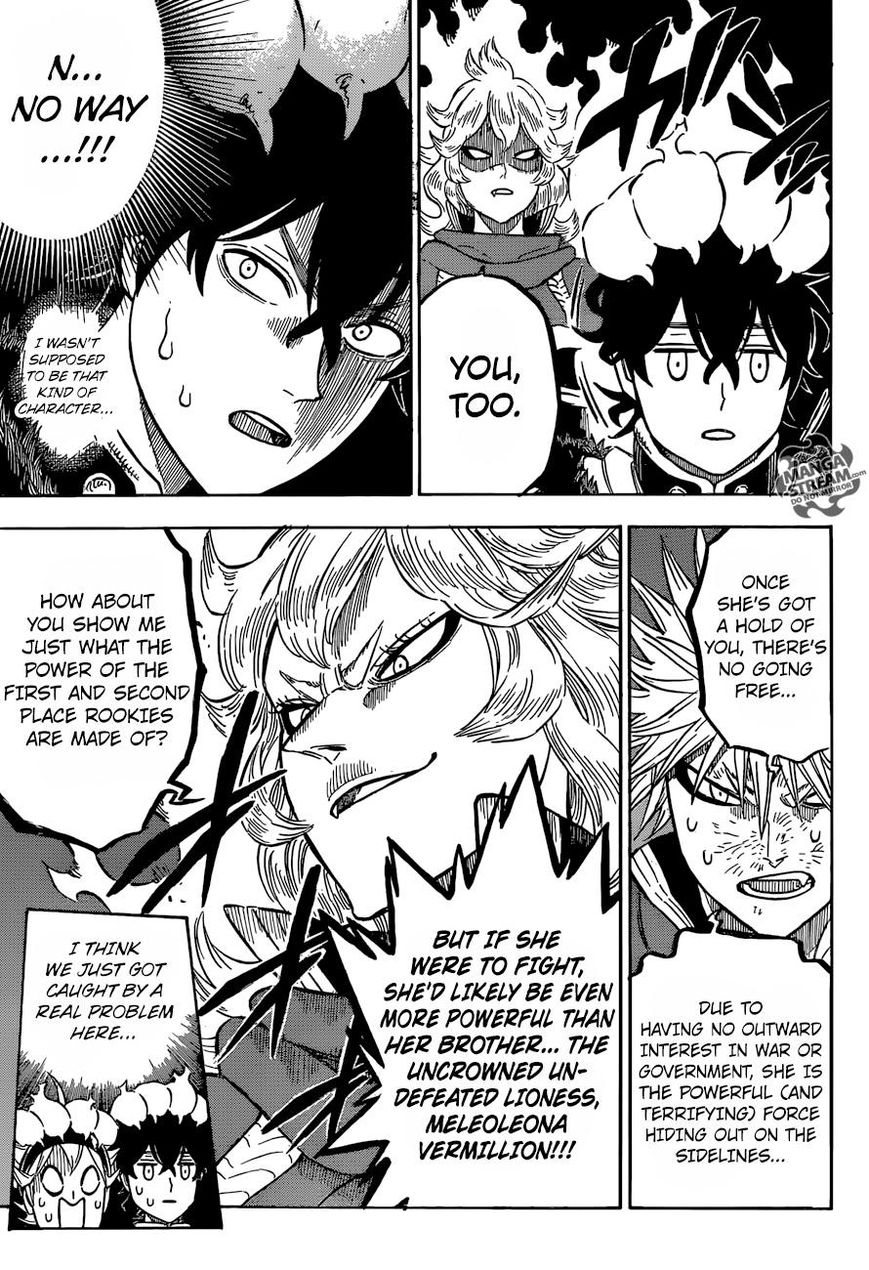 Black Clover, Chapter 108 The Uncrowned Undefeated Lioness image 009