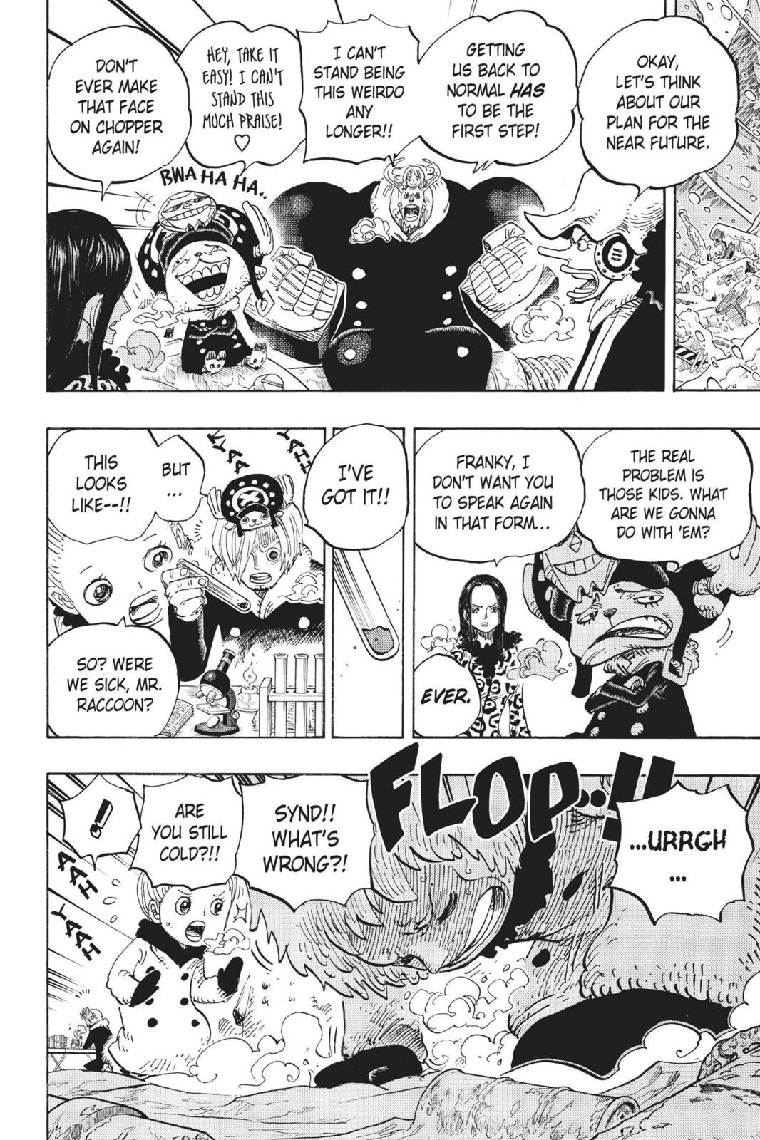 One Piece, Chapter 665 image 004