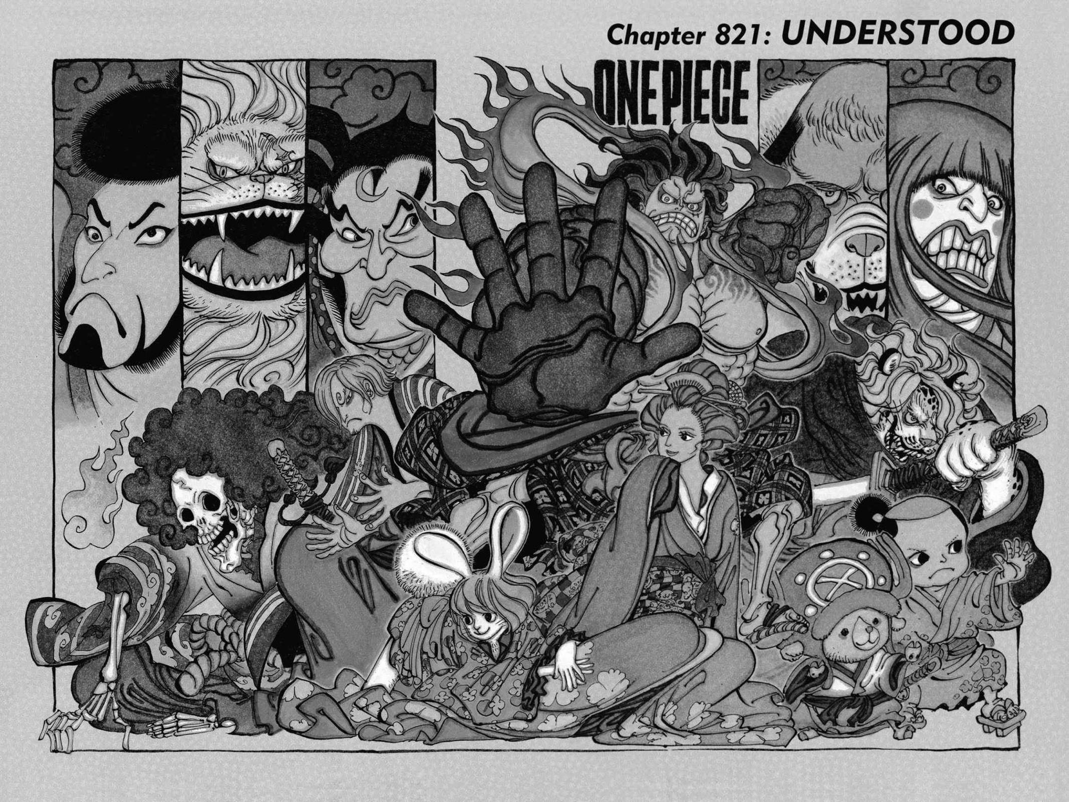 One Piece, Chapter 821 image 001
