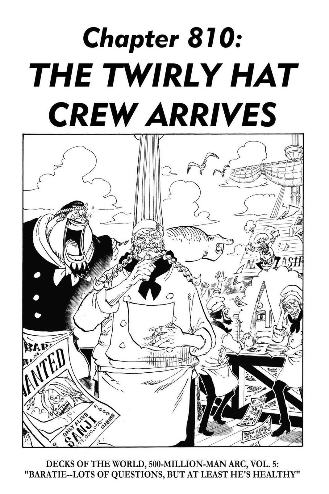One Piece, Chapter 810 image 001