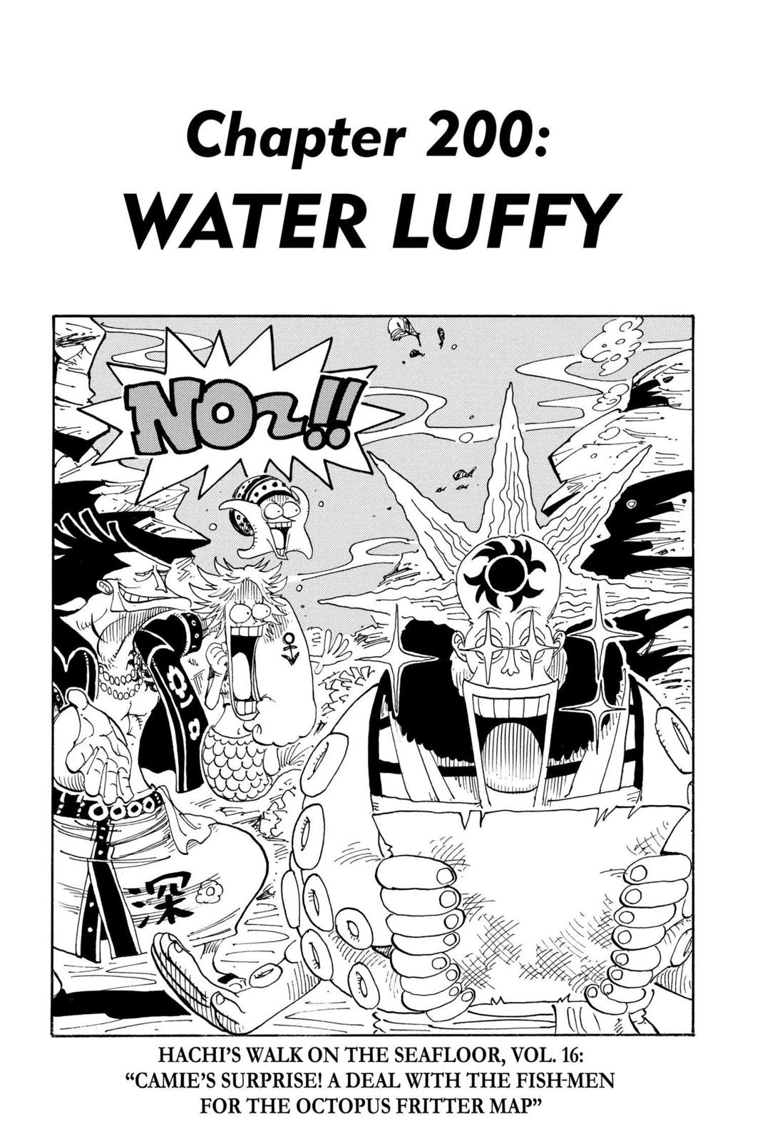 One Piece, Chapter 200 image 001