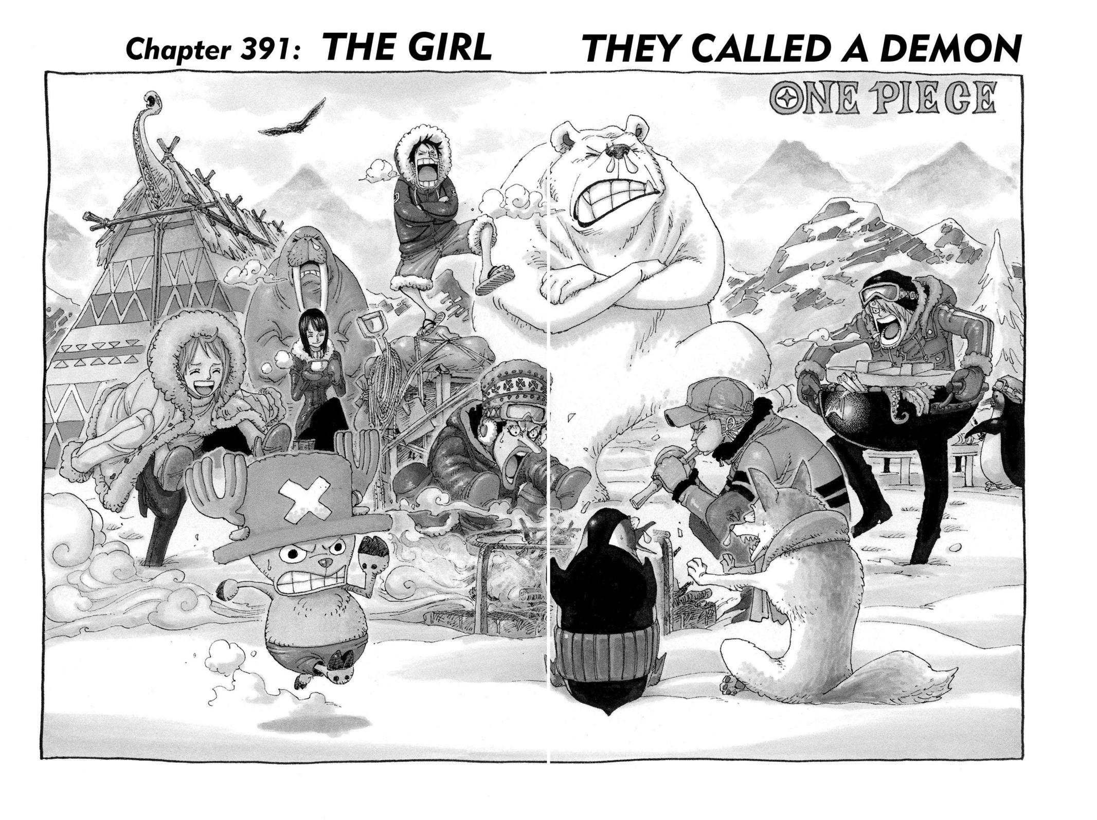One Piece, Chapter 391 image 001