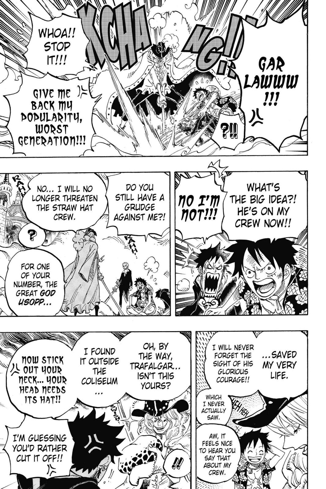 One Piece, Chapter 748 image 006