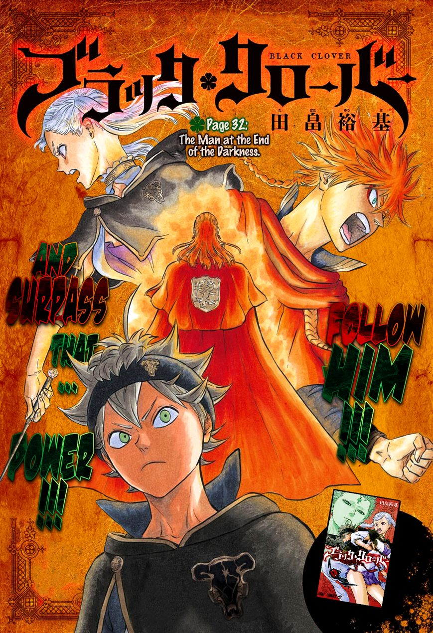 Black Clover, Chapter 32 The Man at the End of the Darkness image 002