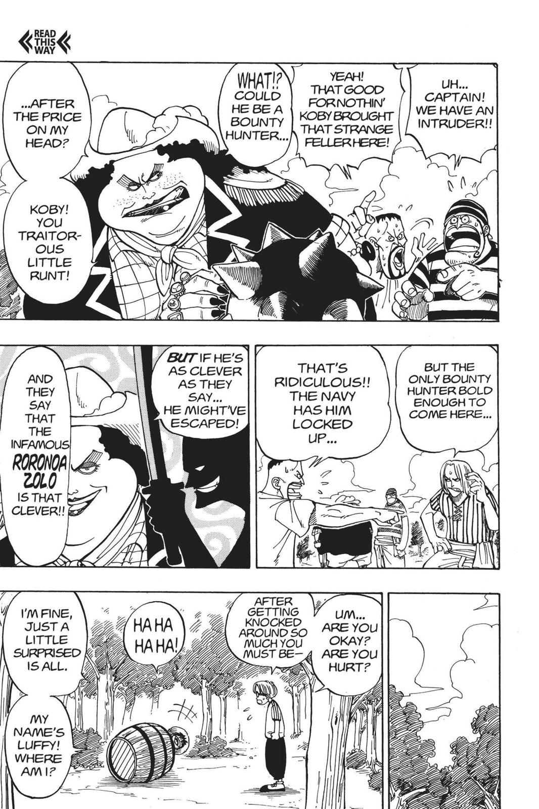 One Piece, Chapter 2 image 011