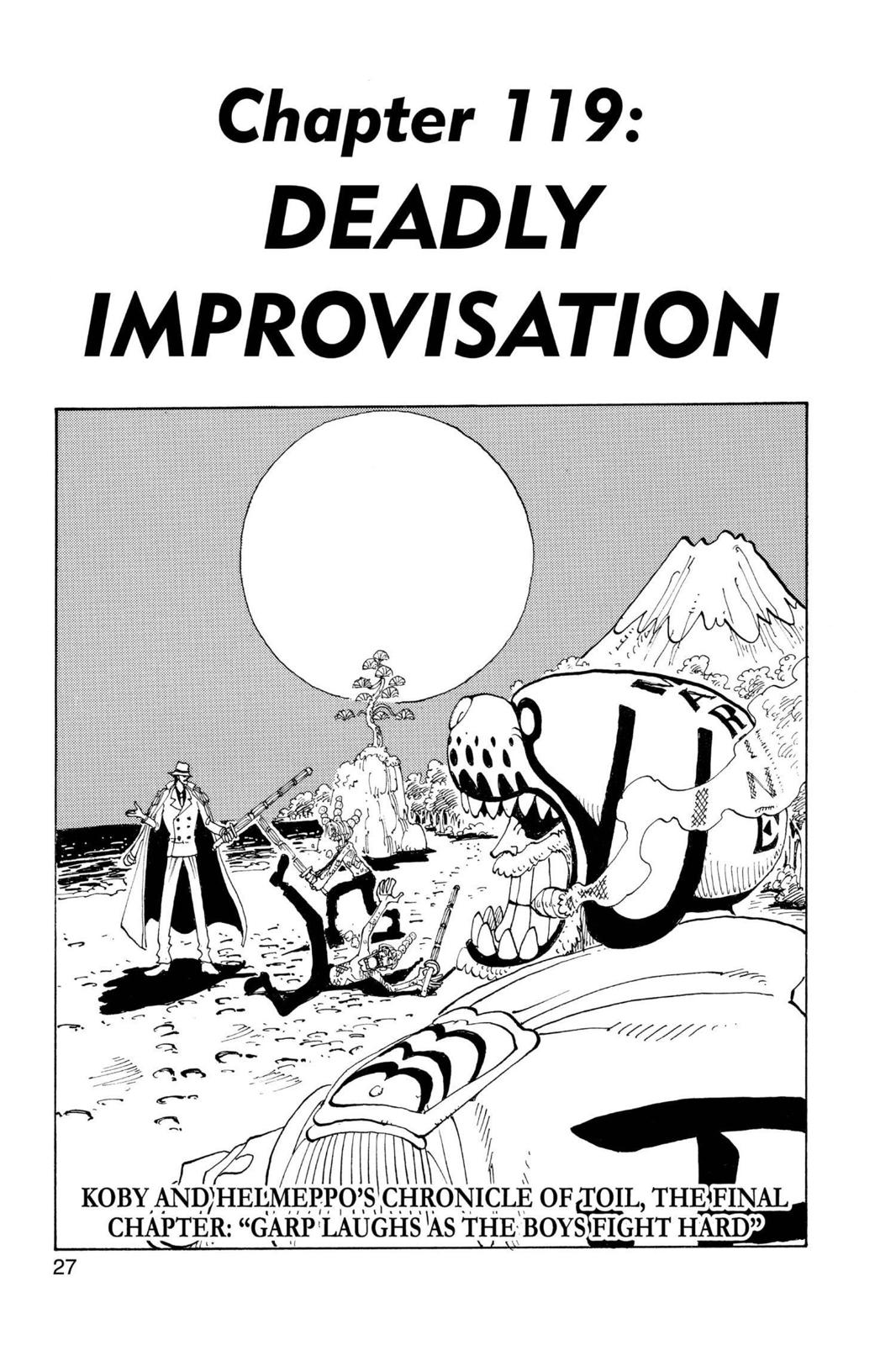 One Piece, Chapter 119 image 001