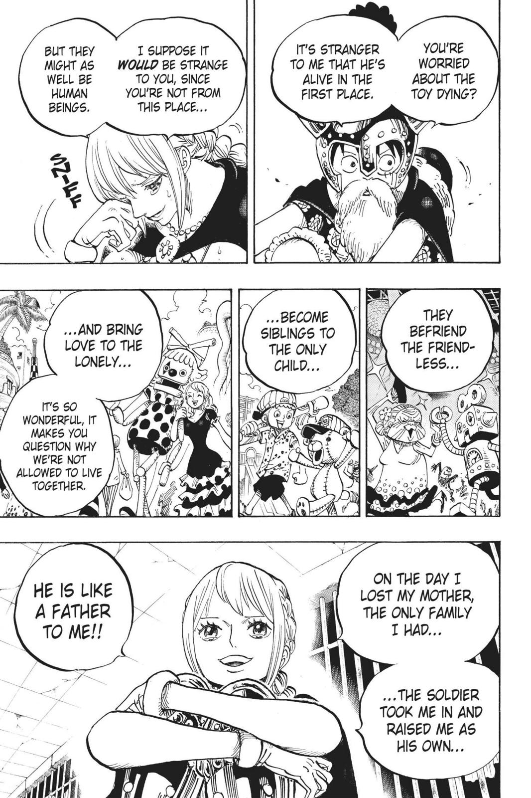 One Piece, Chapter 721 image 003