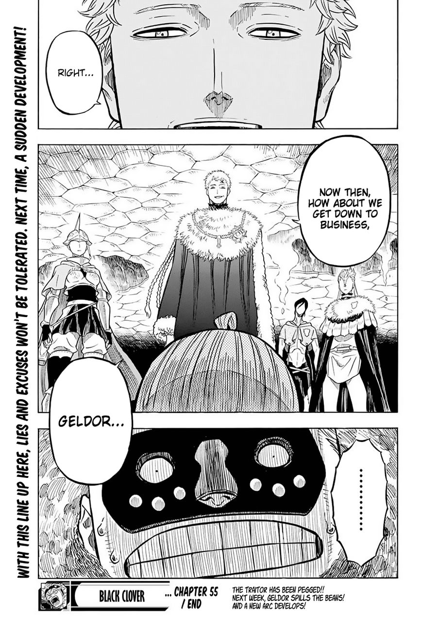 Black Clover, Chapter 55 The Captains and the Peasant Boy image 018