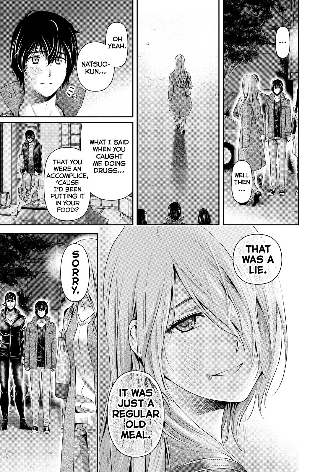 Domestic Na Kanojo, Chapter 226 image 017