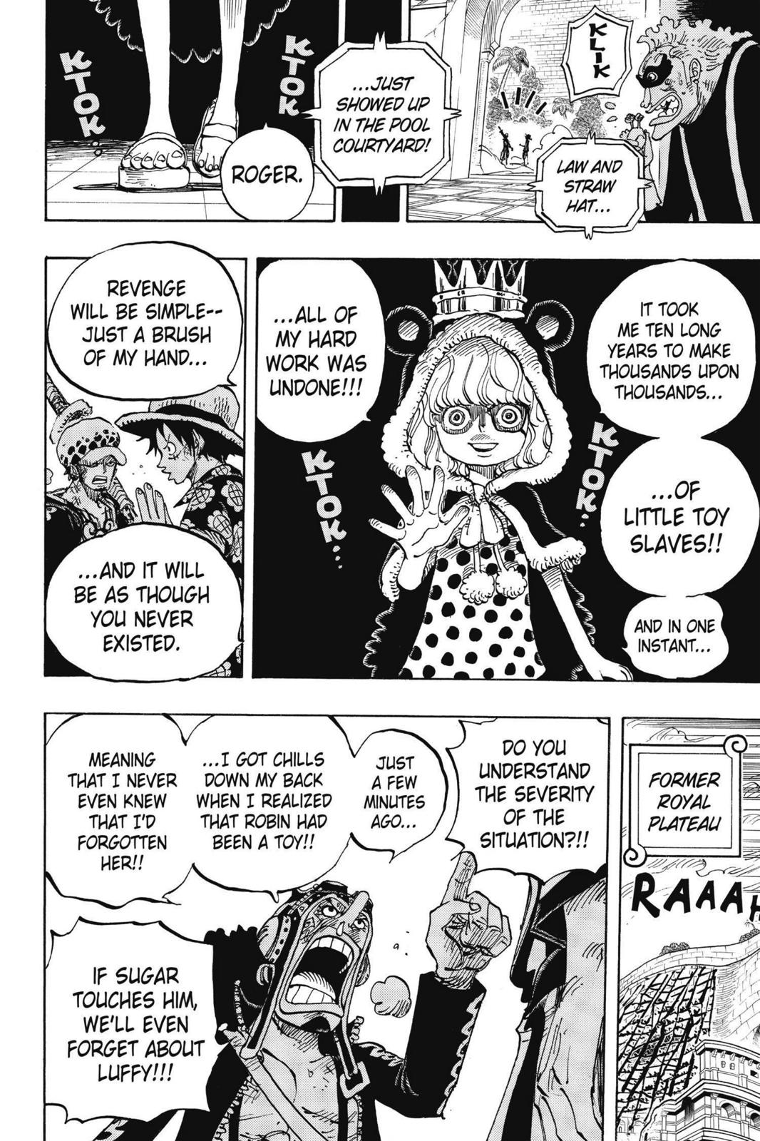 One Piece, Chapter 758 image 006
