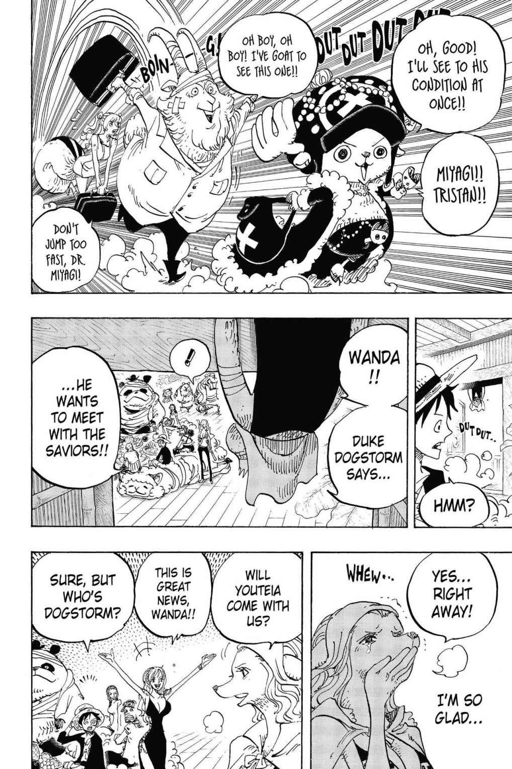One Piece, Chapter 807 image 019