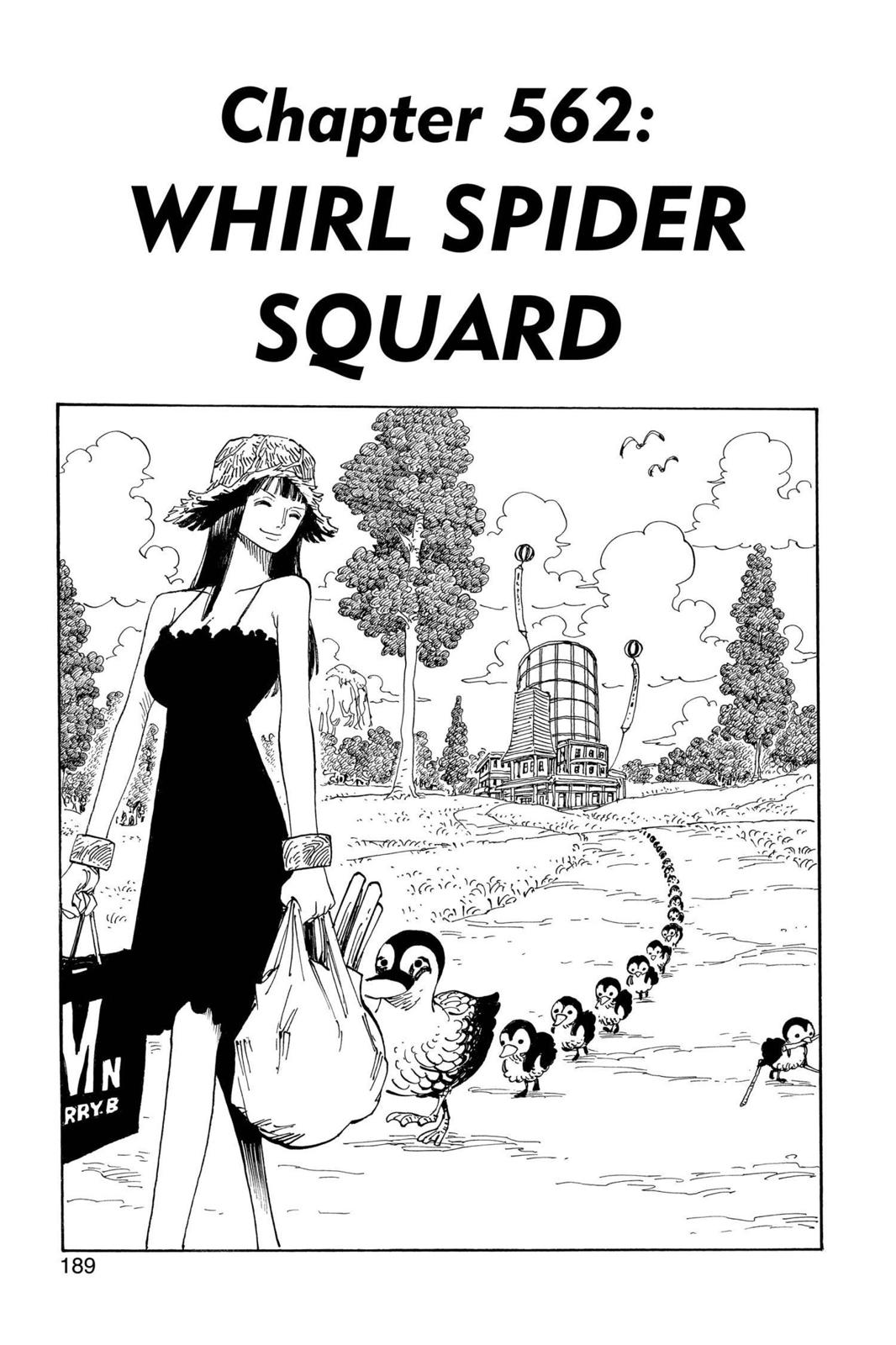 One Piece, Chapter 562 image 001
