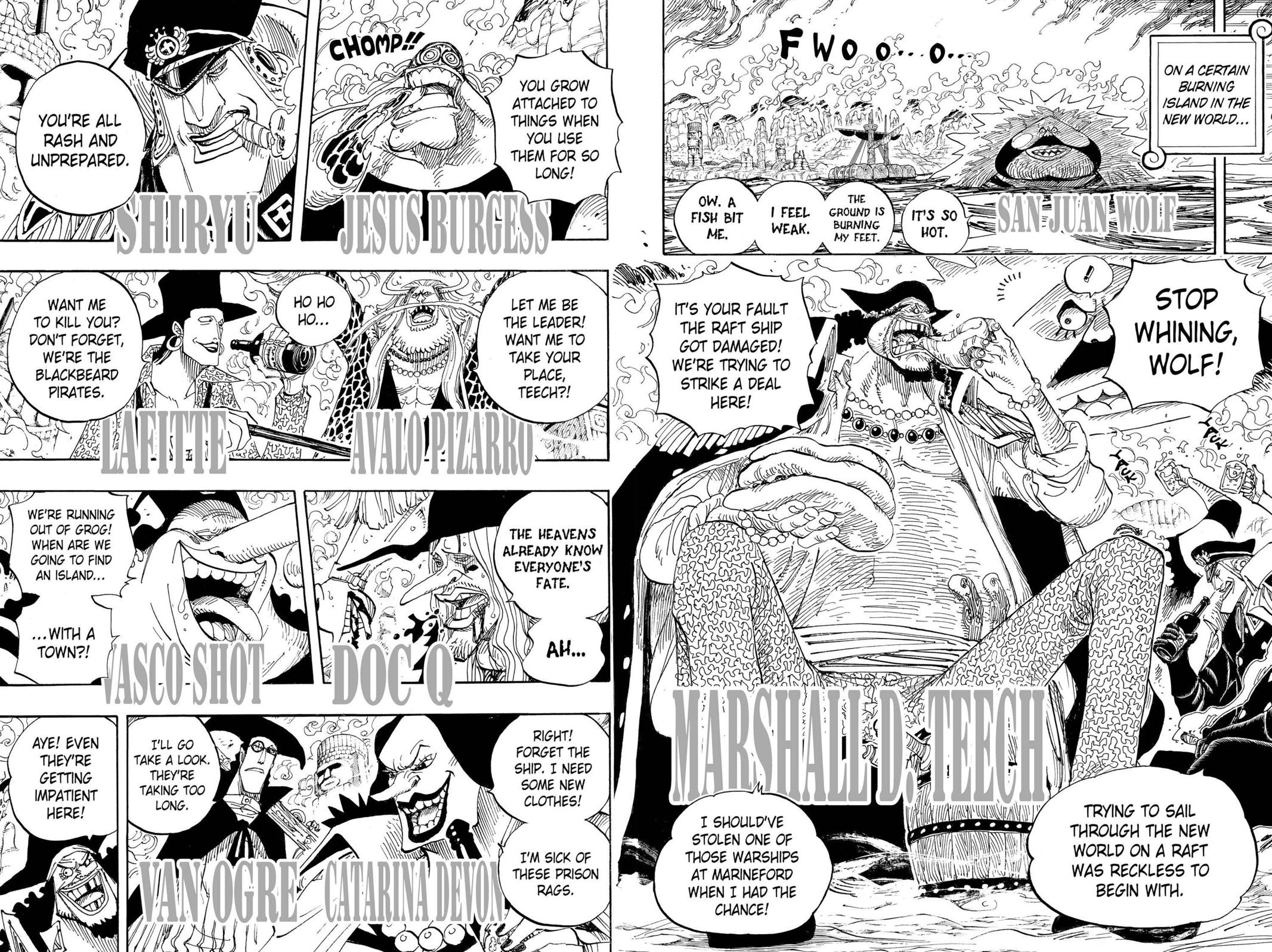 One Piece, Chapter 595 image 013