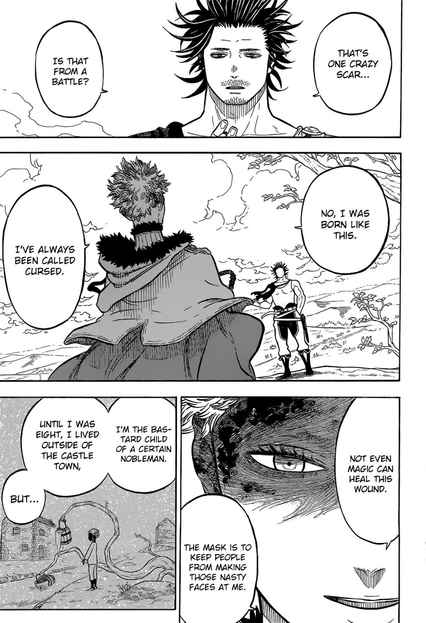 Black Clover, Chapter 79 The Depths of The Mask image 006