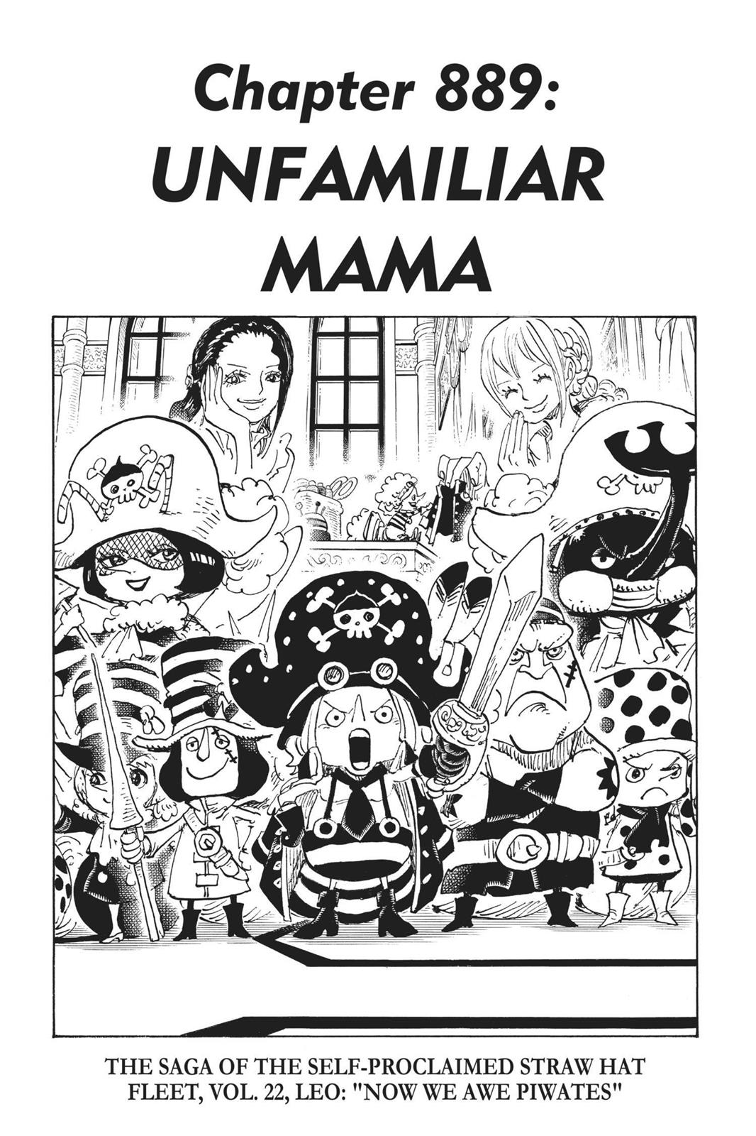 One Piece, Chapter 889 image 001