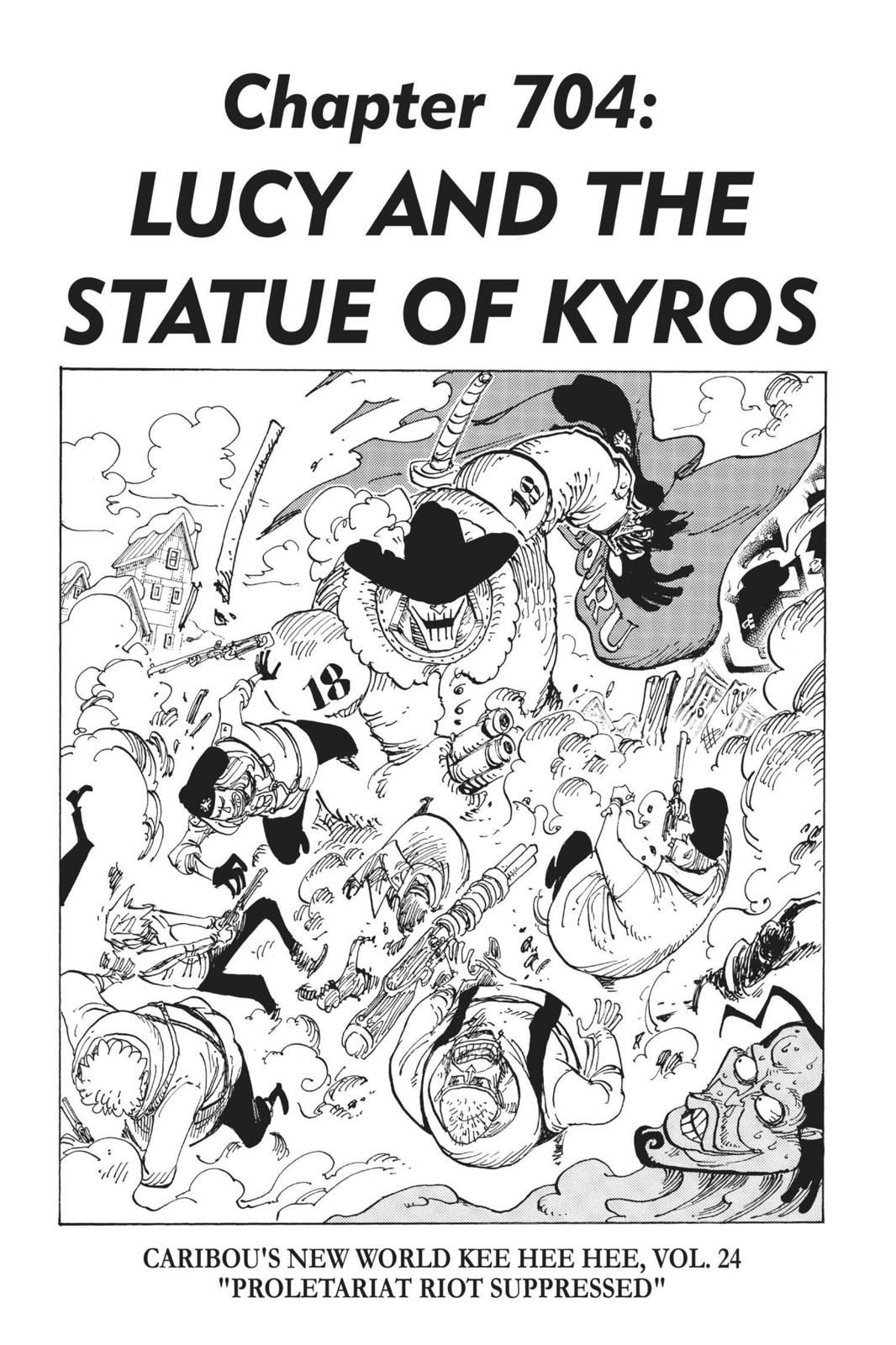 One Piece, Chapter 704 image 001