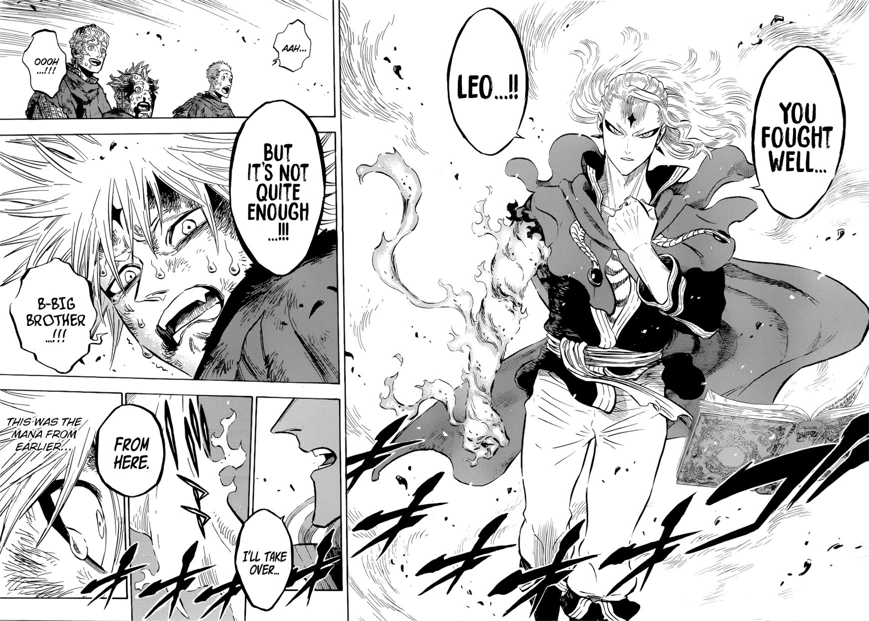 Black Clover, Chapter 171 The Sleeping Lion image 014