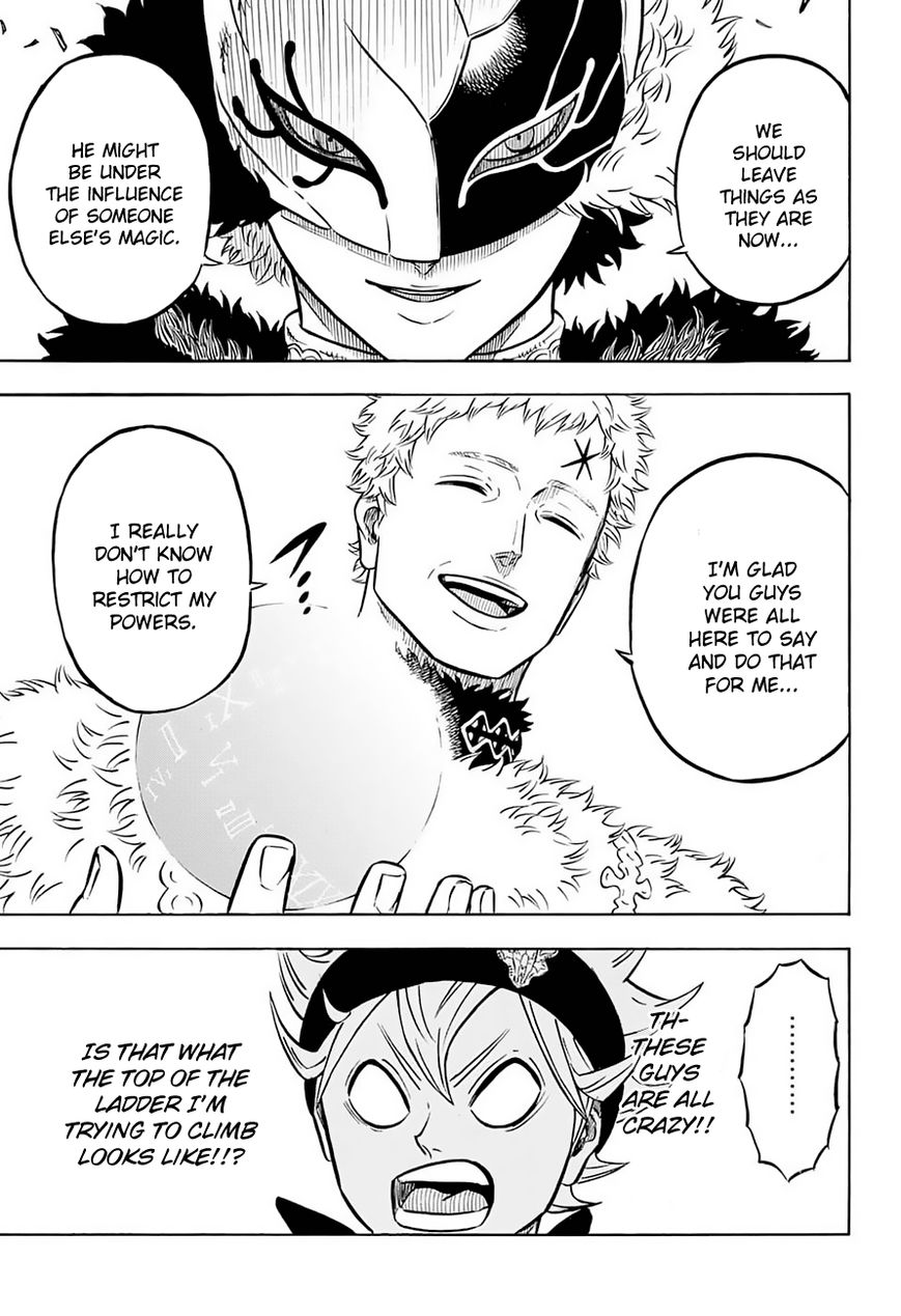 Black Clover, Chapter 55 The Captains and the Peasant Boy image 016