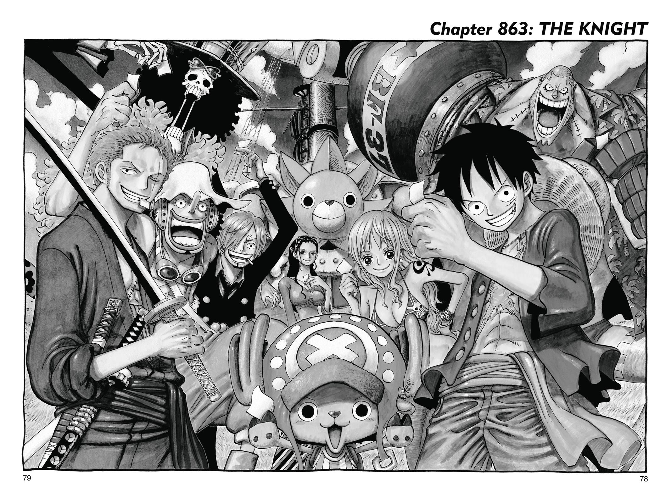 One Piece, Chapter 863 image 001