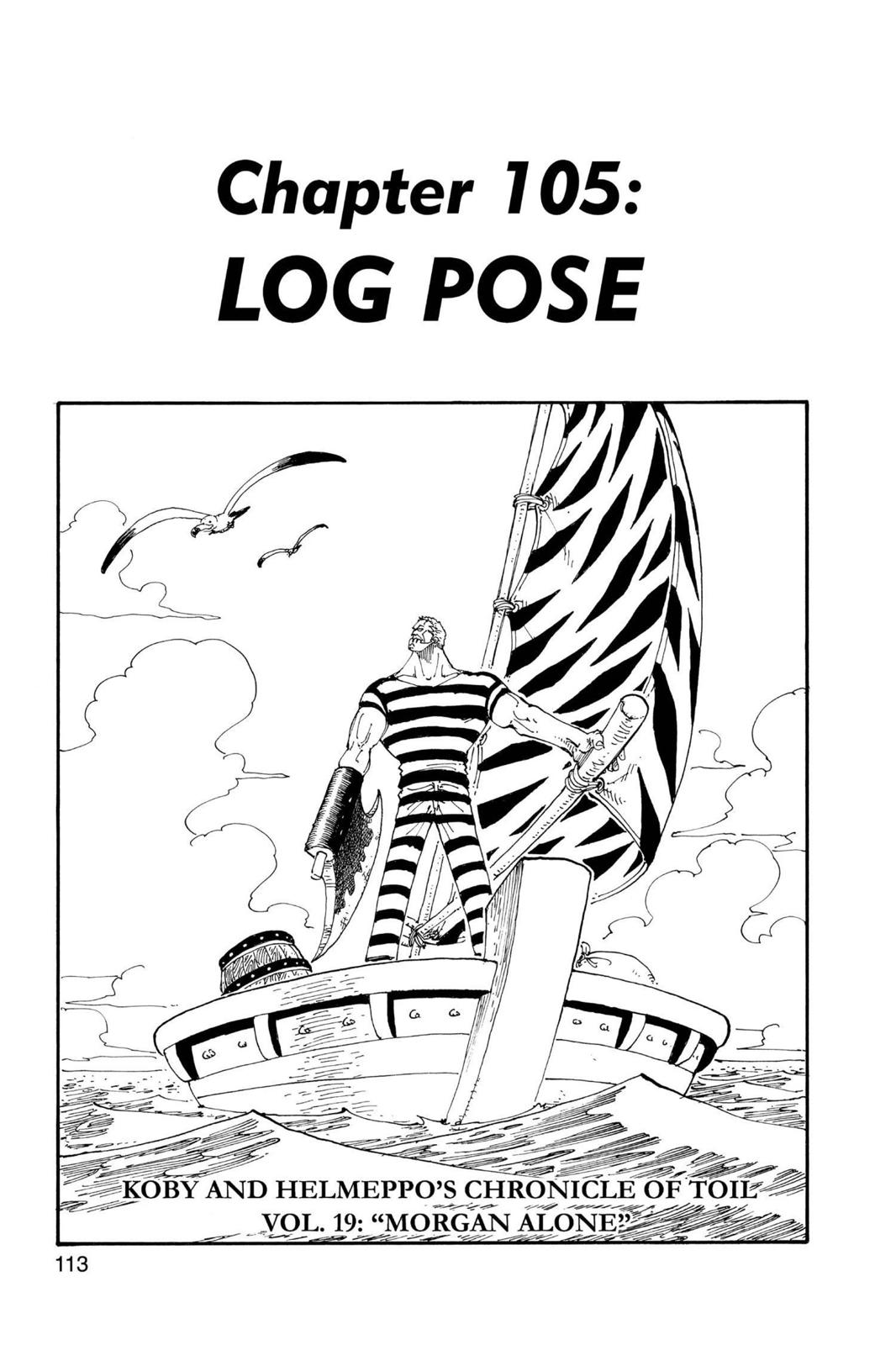 One Piece, Chapter 105 image 001