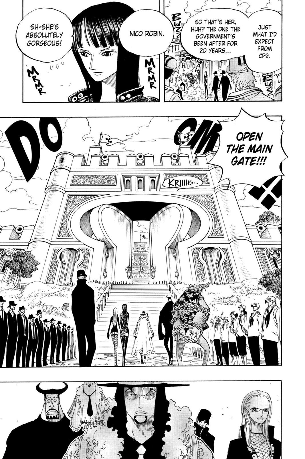 One Piece, Chapter 375 image 011