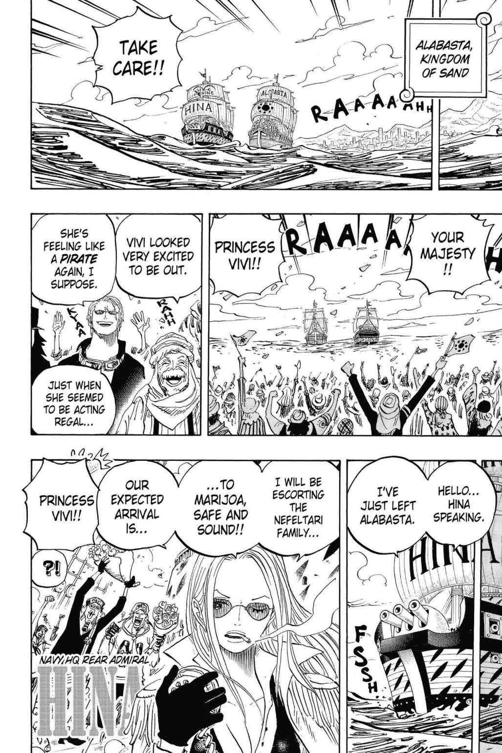 One Piece, Chapter 823 image 002