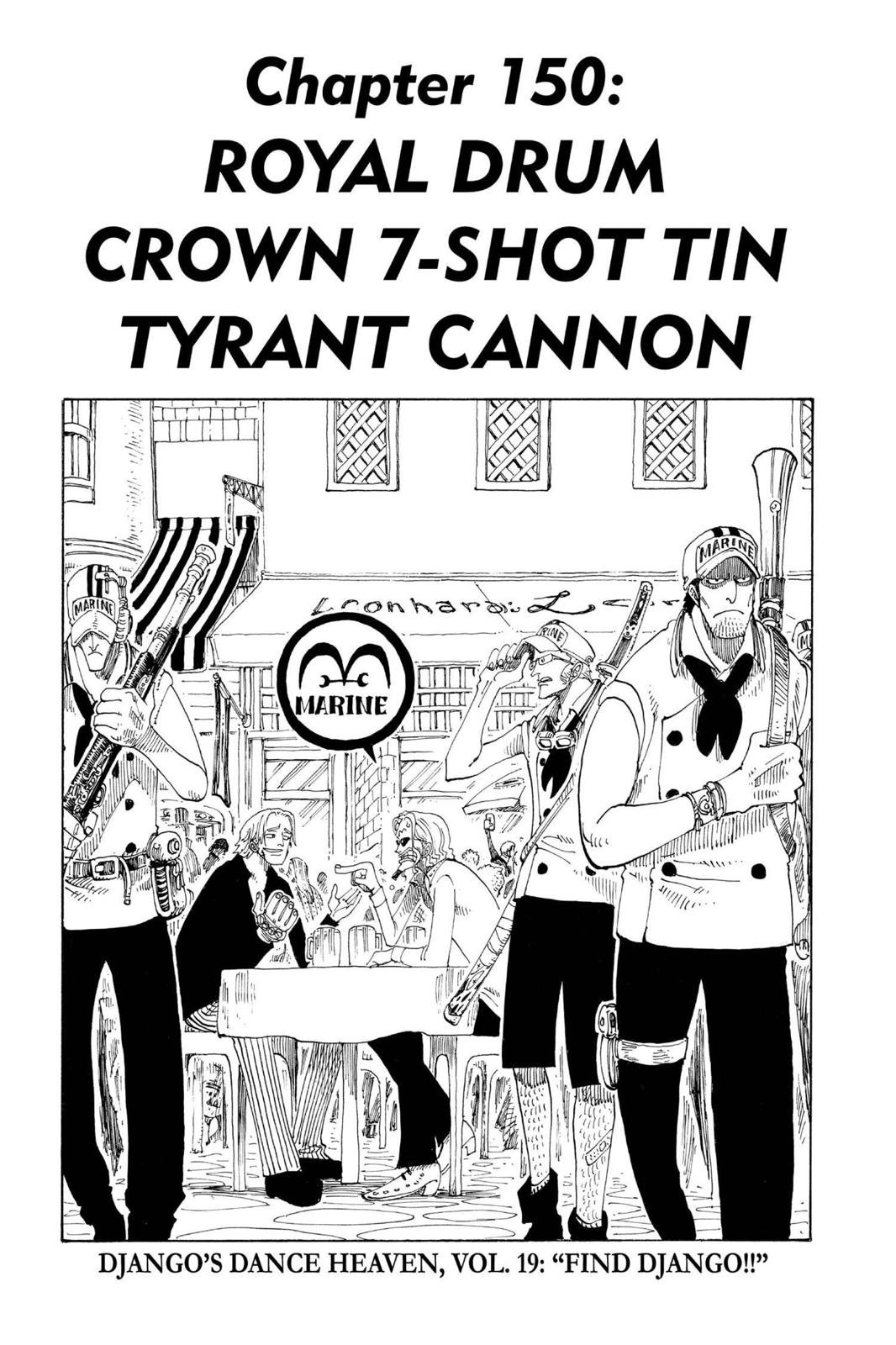 One Piece, Chapter 150 image 001