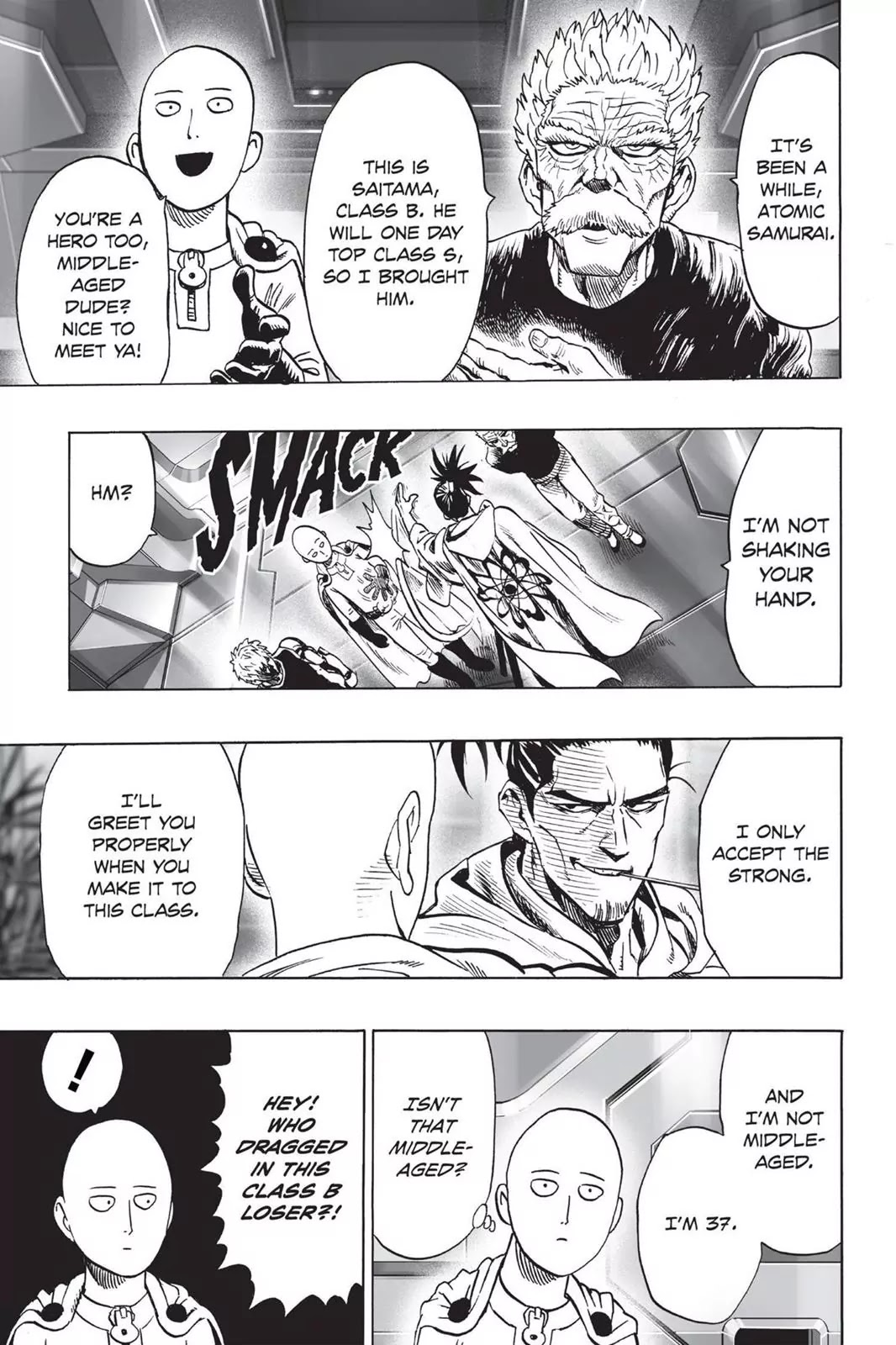 One Punch Man, Chapter Onepunch-Man 30 image 016