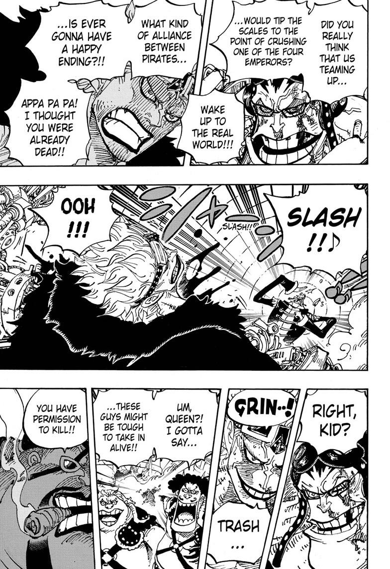 One Piece, Chapter 981 image 005